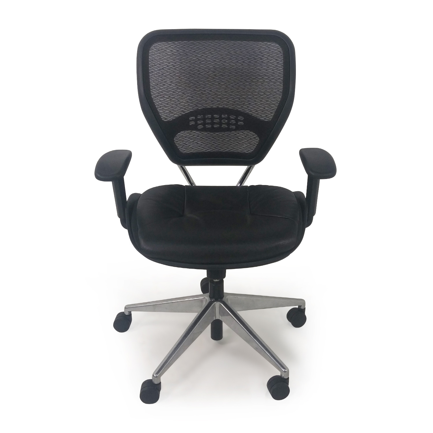 Leather Mesh Computer Chair discount