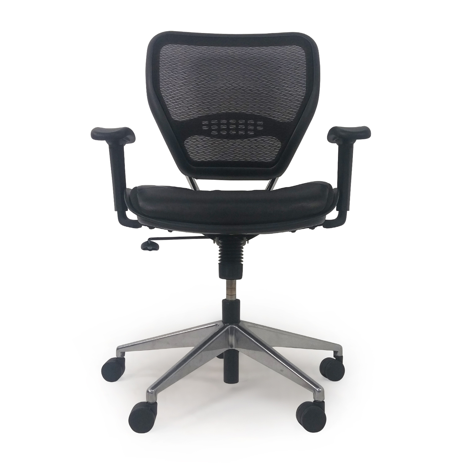 Leather Mesh Computer Chair dimensions
