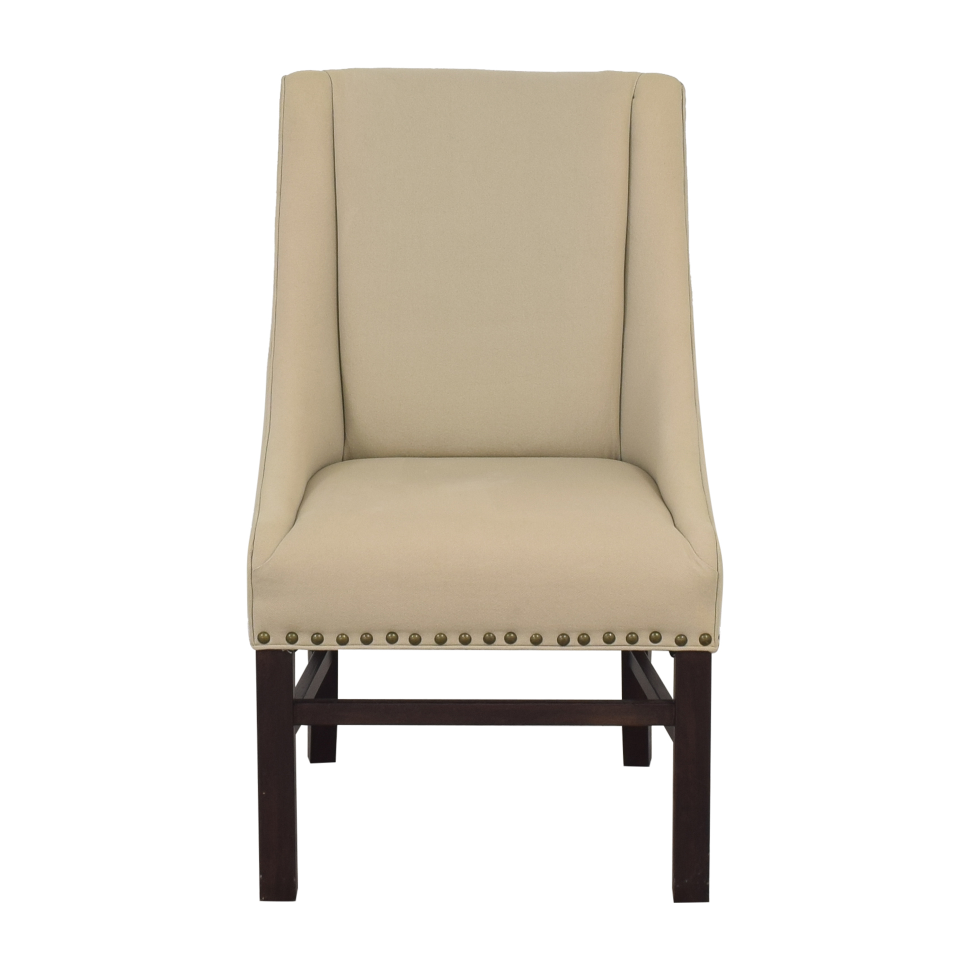 Restoration Hardware Studded Armchair sale