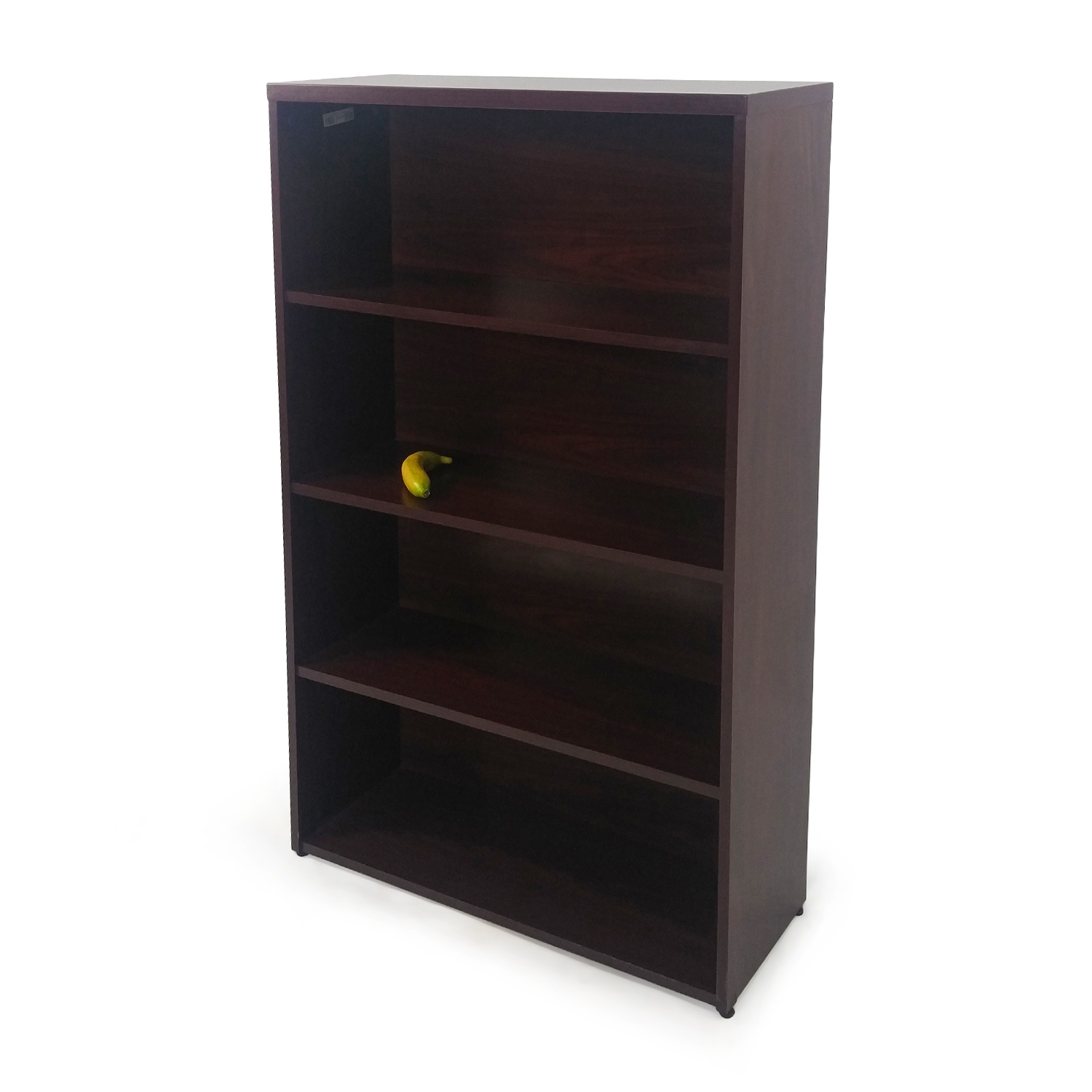 Off solid wood bookcase storage