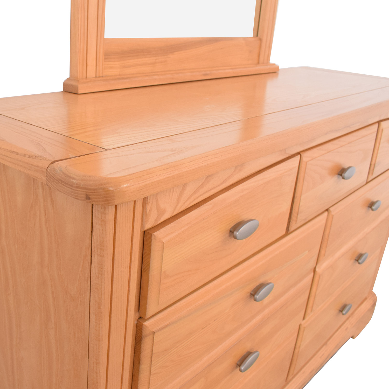 Vaughan Furniture Vaughan Furniture Dresser with Vertical Mirror nyc