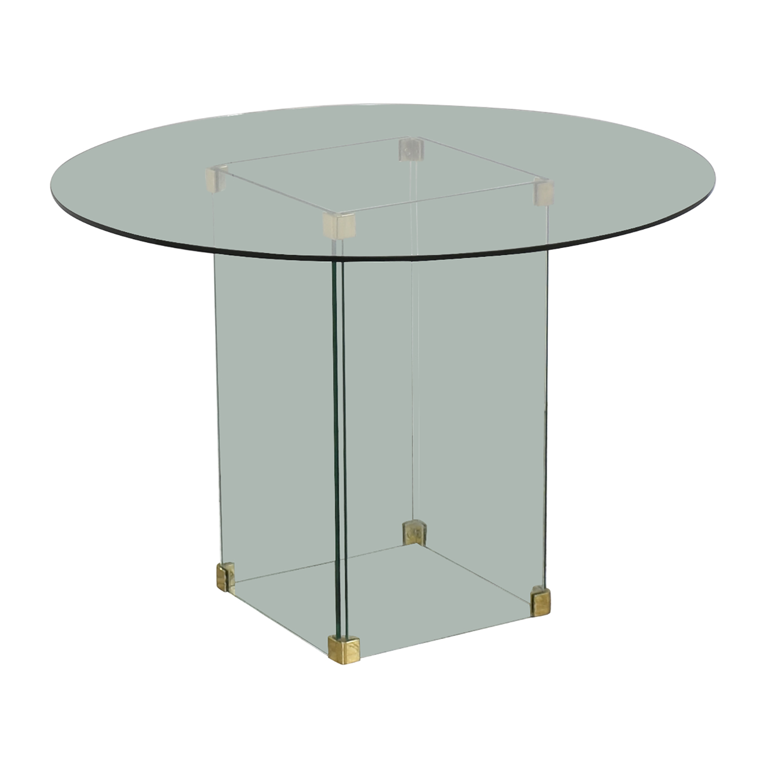 Round Glass Dining Table dimensions