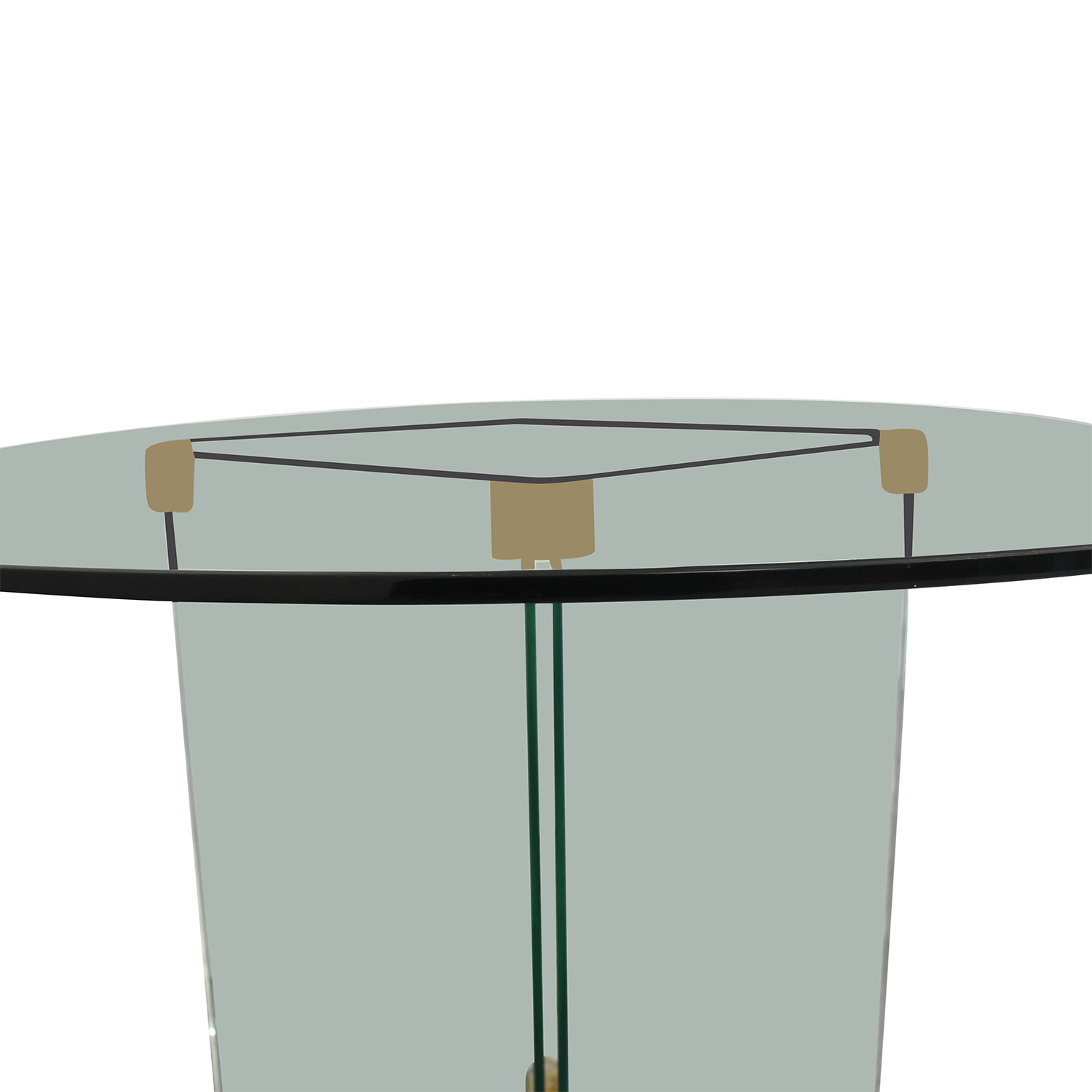 Round Glass Dining Table coupon