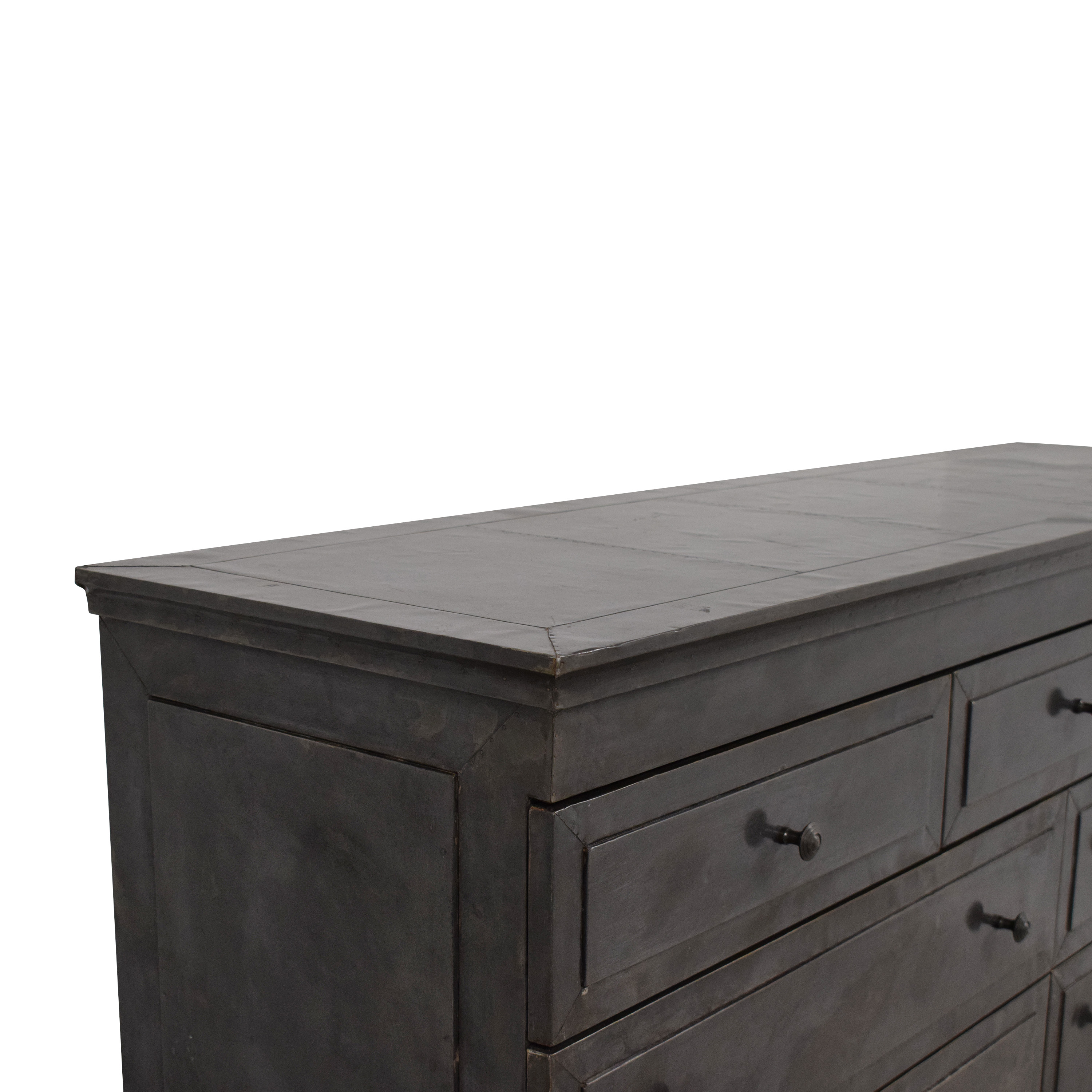 buy Restoration Hardware Annecy Metal-Wrapped 11 Drawer Dresser Restoration Hardware Storage