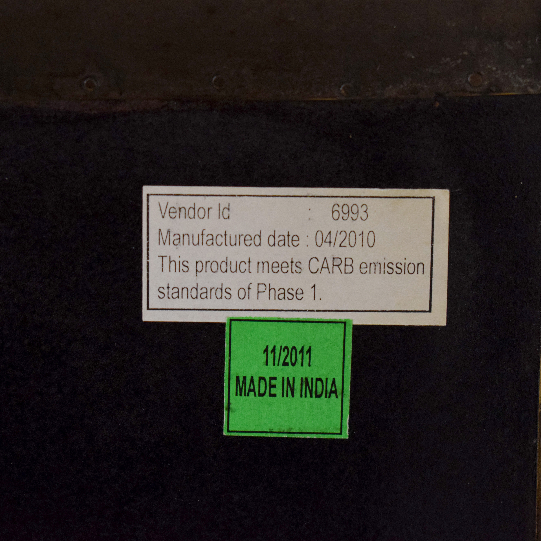 Restoration Hardware Annecy Metal-Wrapped 11 Drawer Dresser Restoration Hardware