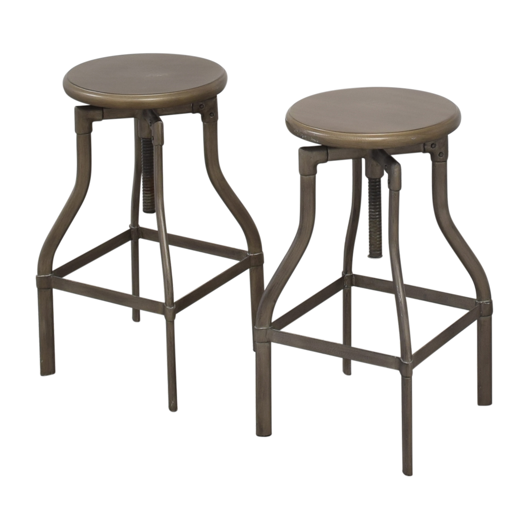 Crate & Barrel Crate & Barrel Turner Adjustable Stools nyc
