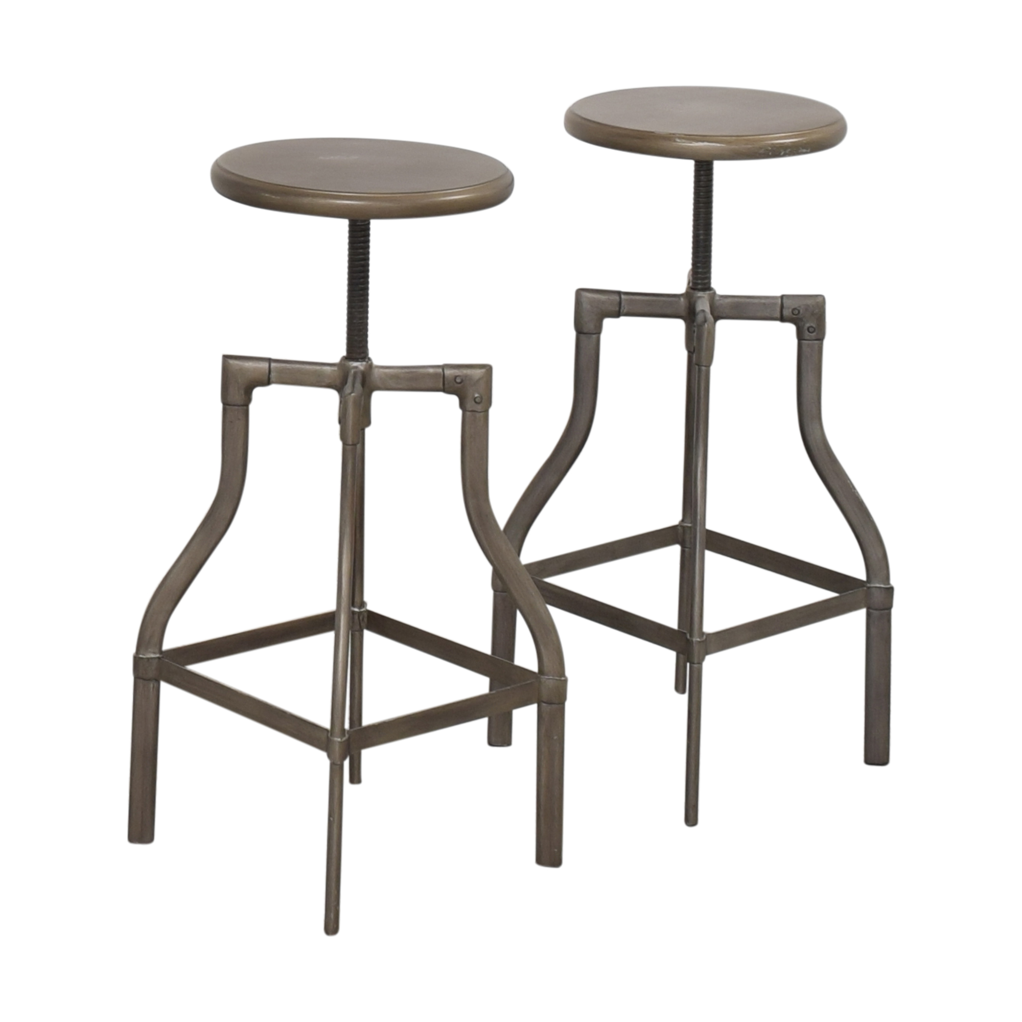 Crate & Barrel Crate & Barrel Turner Adjustable Stools ct