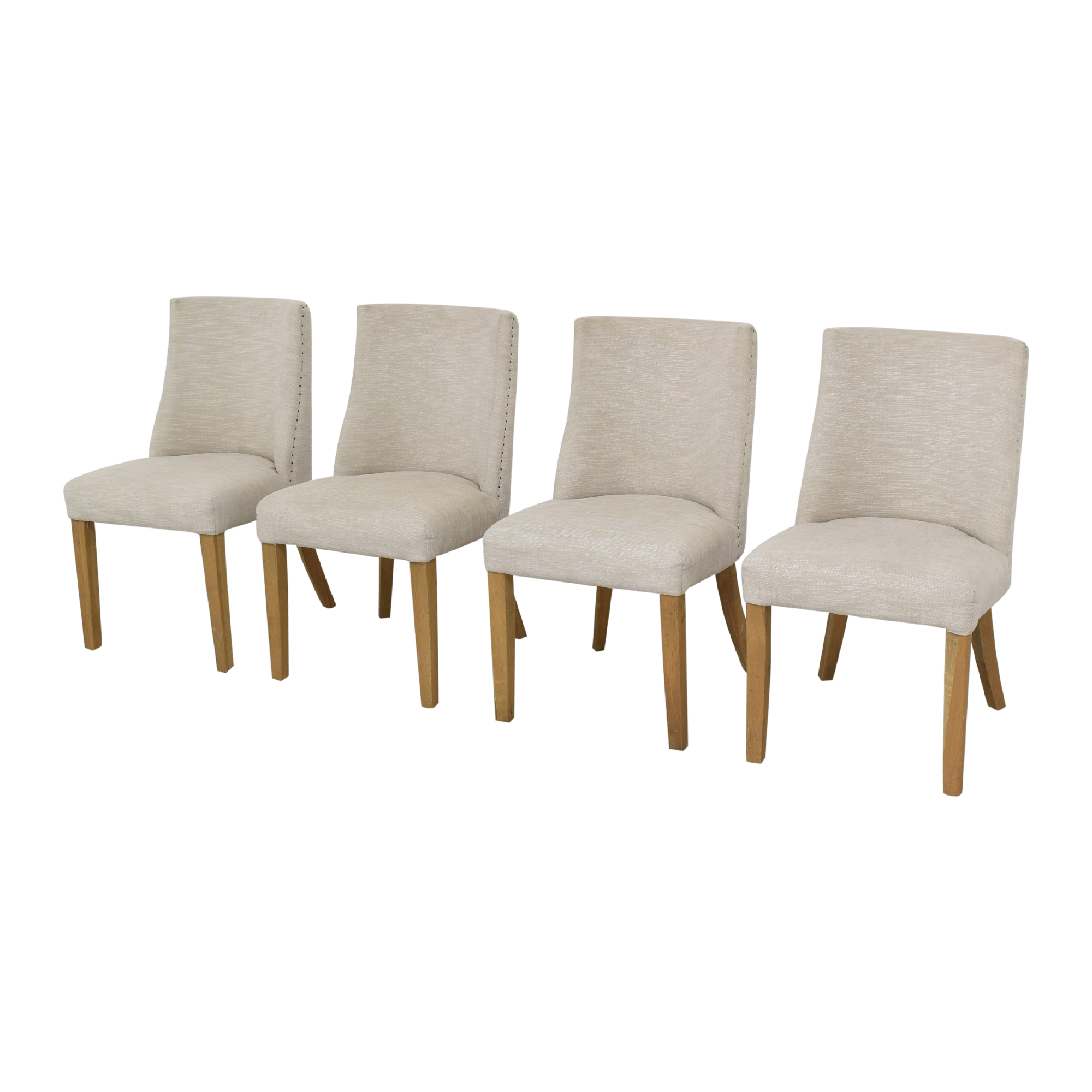 Restoration Hardware Restoration Hardware 1940s French Barrelback Fabric Side Chairs coupon