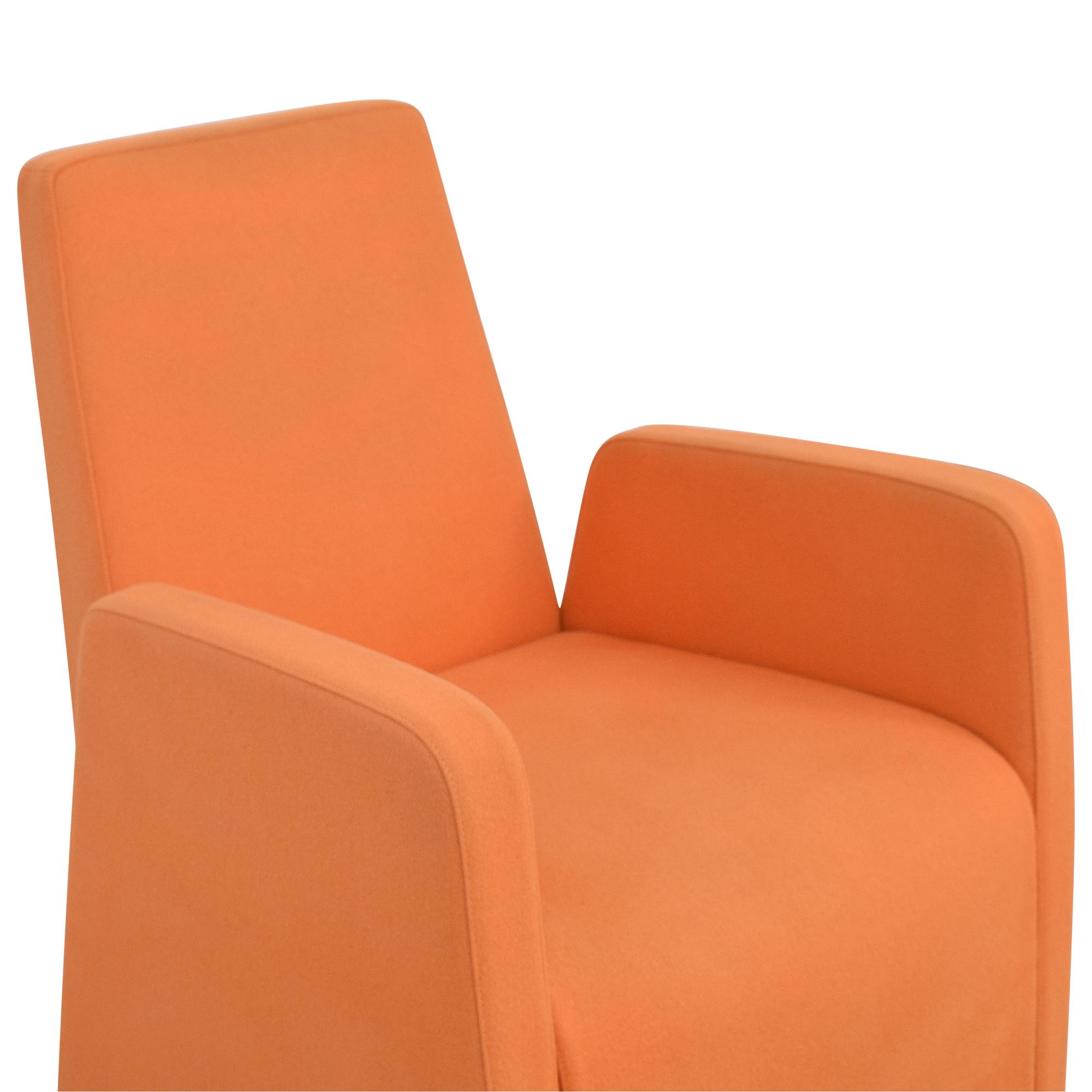 Baleri Italia Tato Orange Chair / Accent Chairs