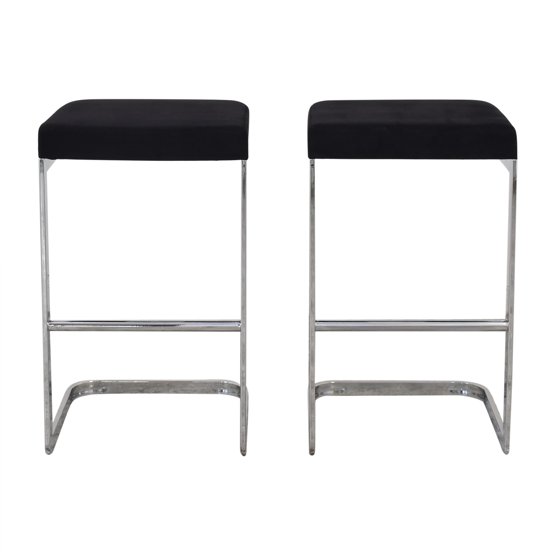 Crate & Barrel CB2 Mack Bar Stools Chairs