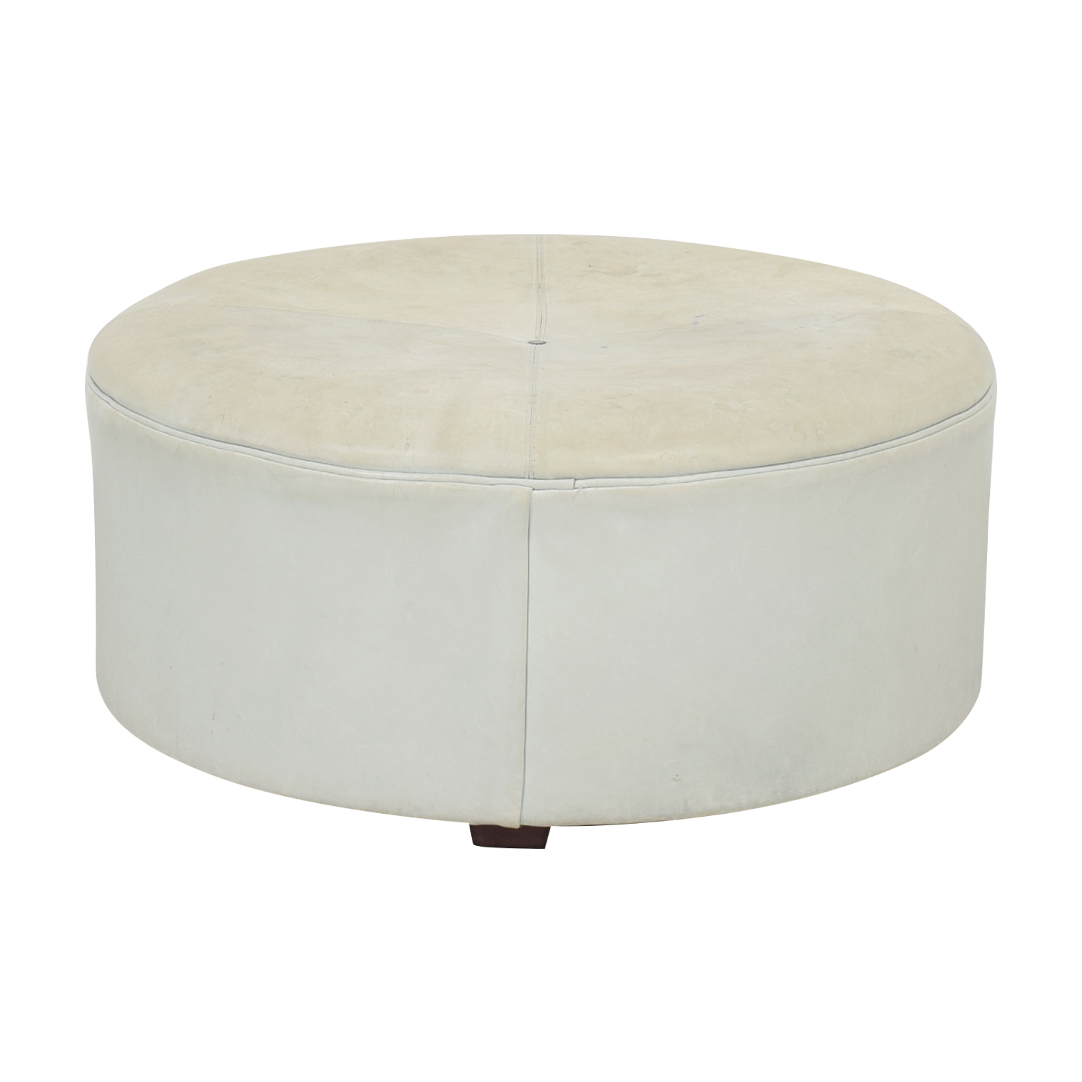Mitchell Gold + Bob Williams Round Ottoman Mitchell Gold + Bob Williams