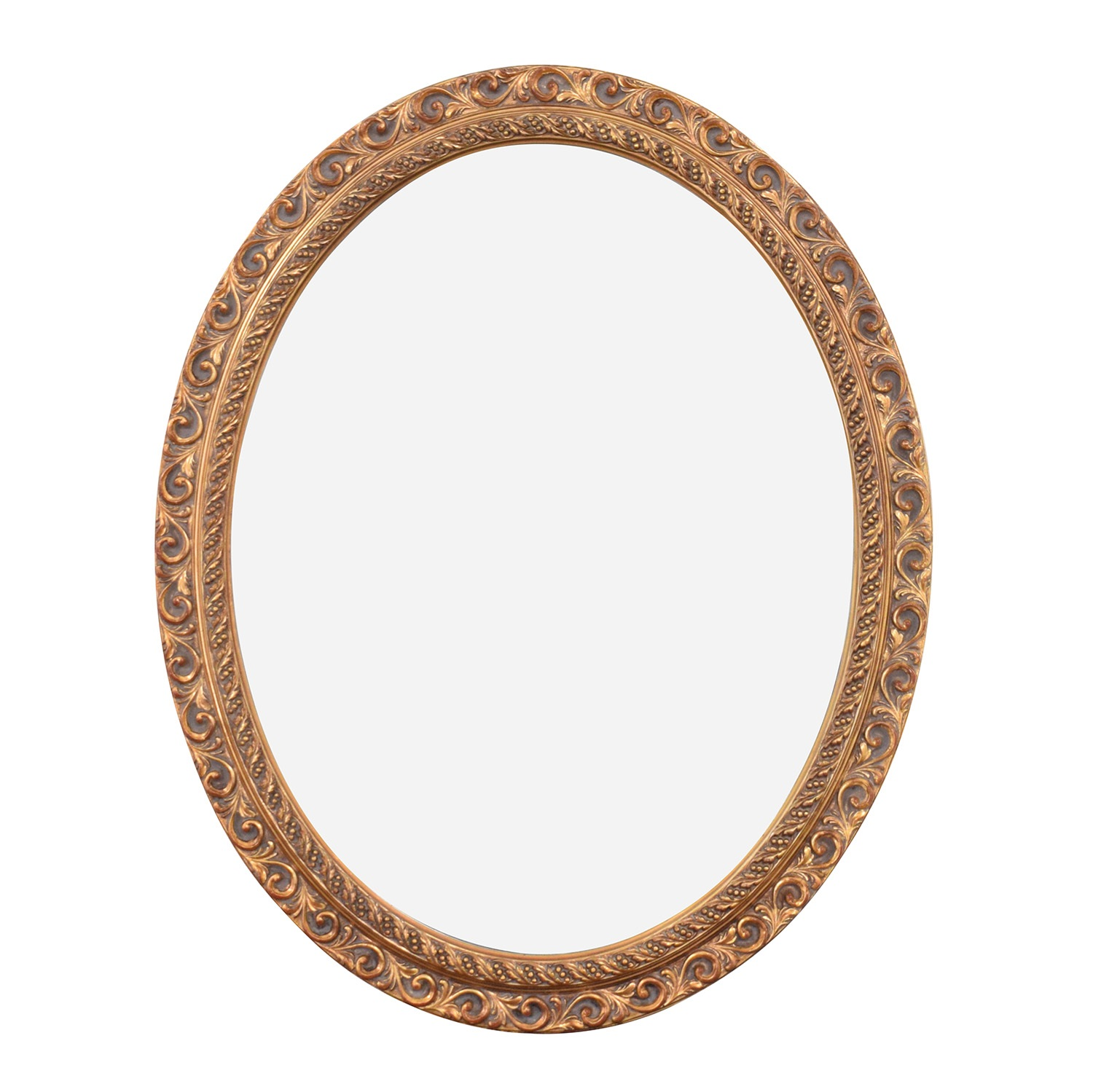 Decorative Oval Wall Mirror coupon