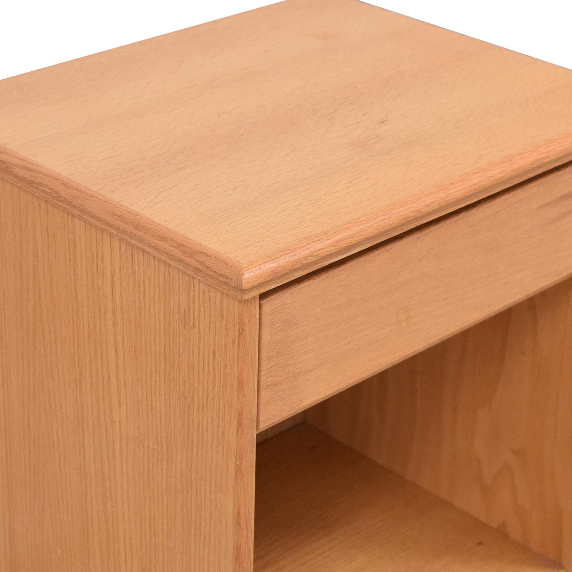 buy Single Drawer Modern Nightstand  Tables