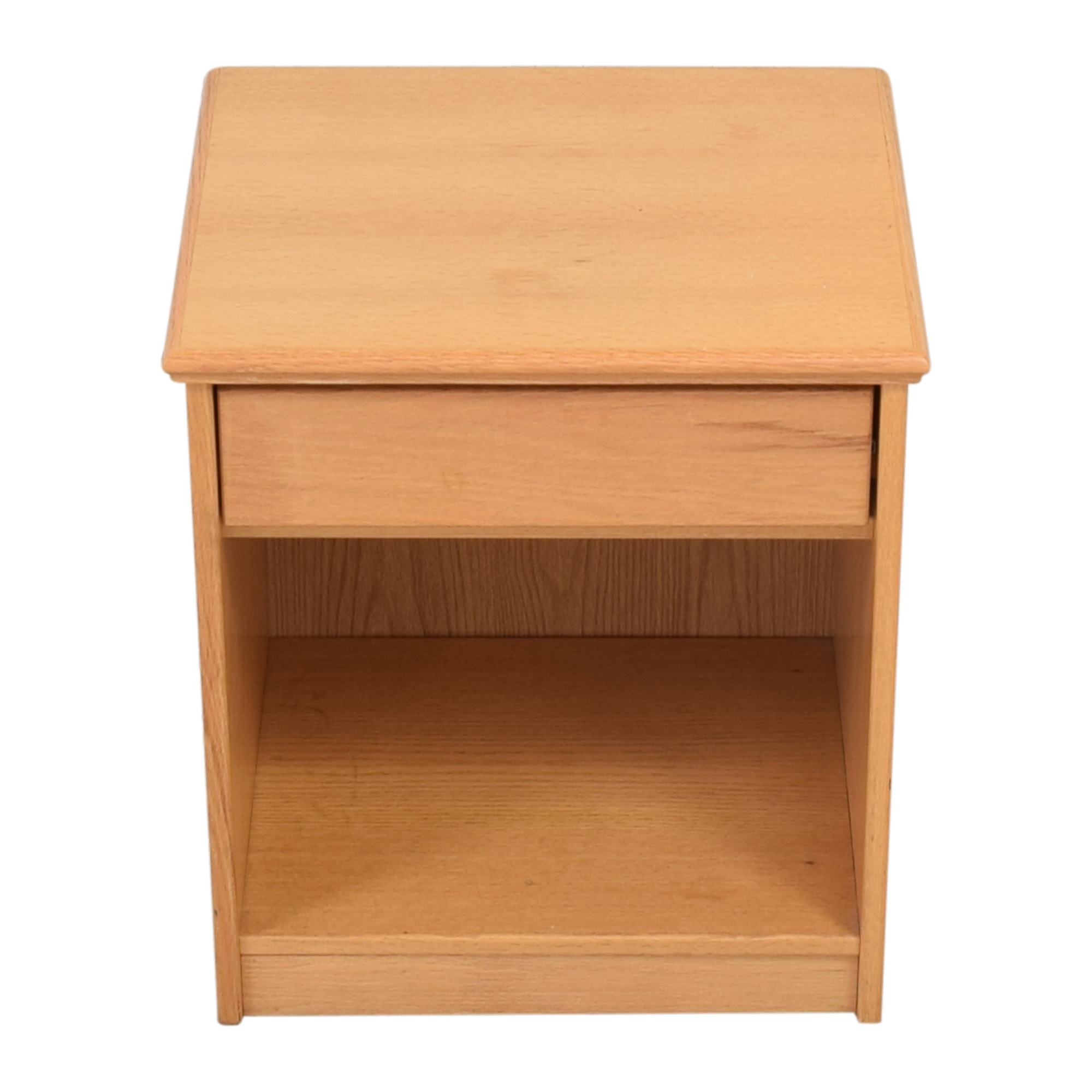 Single Drawer Modern Nightstand End Tables