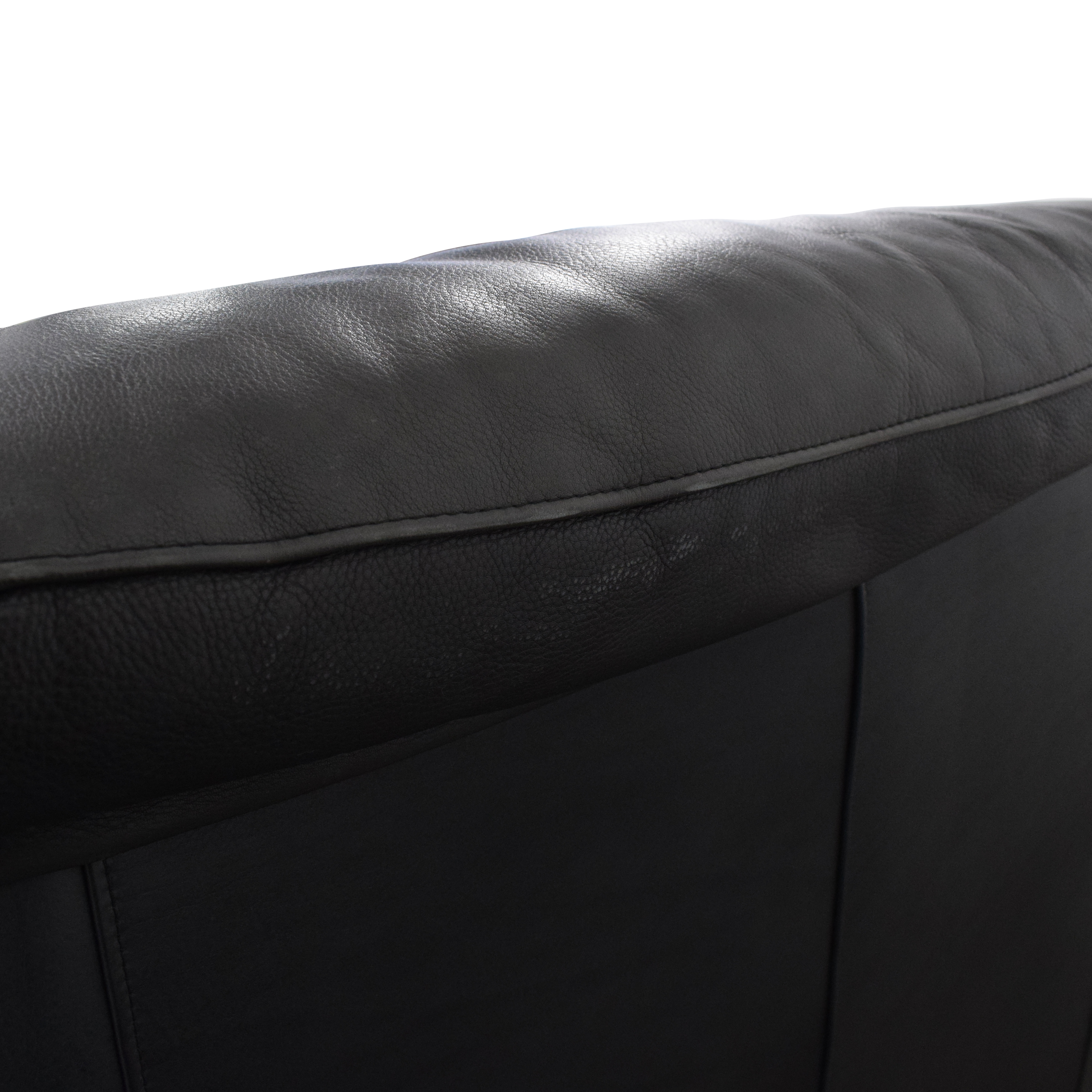 Leather Center Leather Center Flat Arm Loveseat dimensions