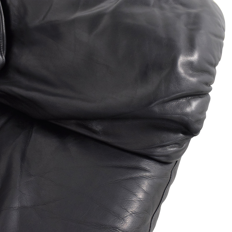 shop Leather Center Leather Center Flat Arm Loveseat online