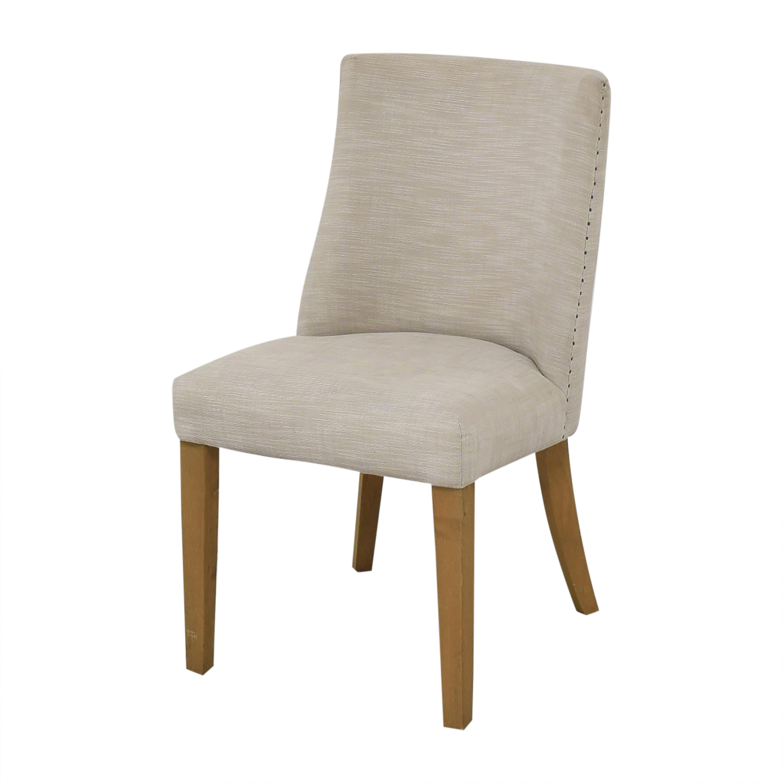 buy Restoration Hardware 1940s French Barrelback Fabric Side Chairs Restoration Hardware Chairs