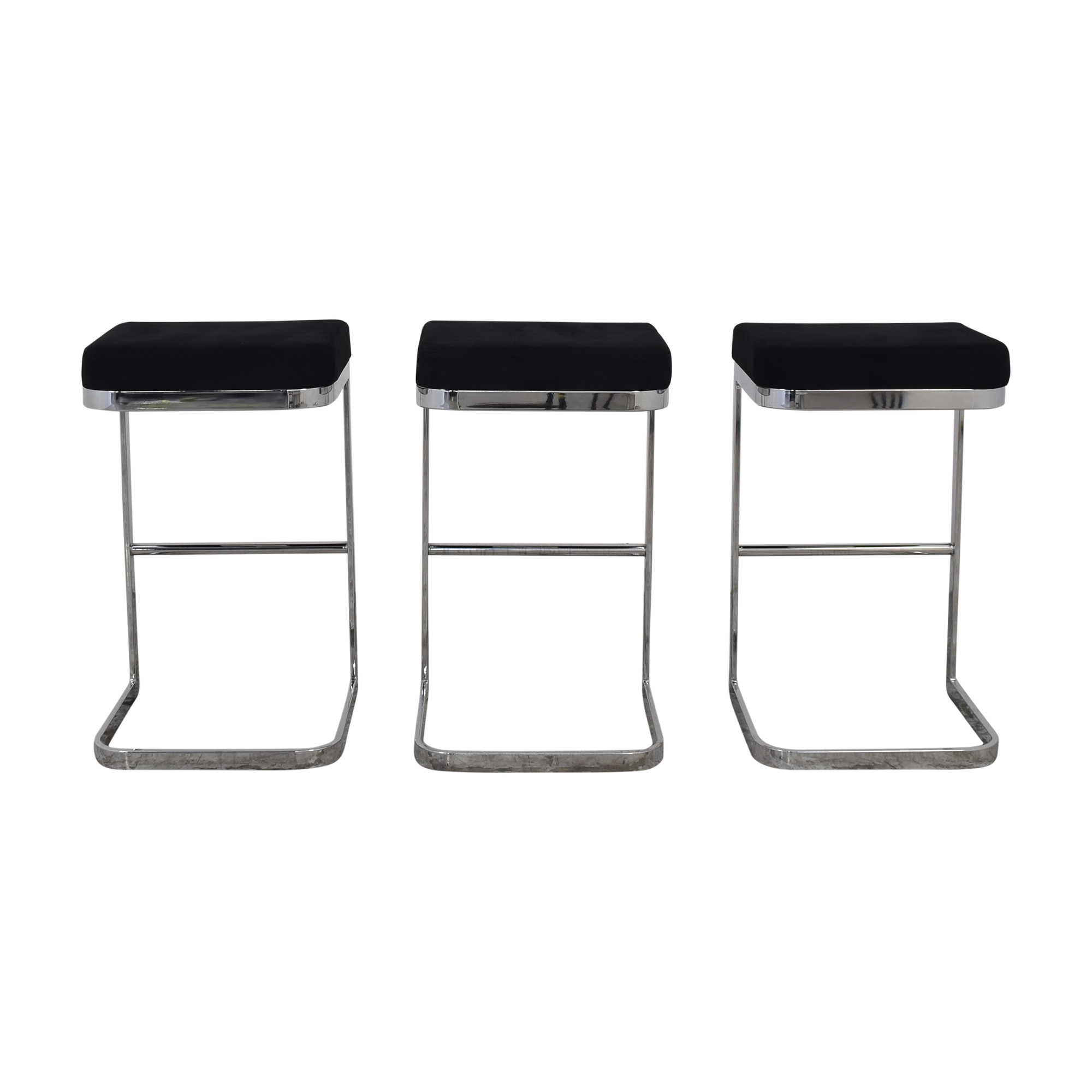 Crate & Barrel CB2 Mack Bar Stools ma