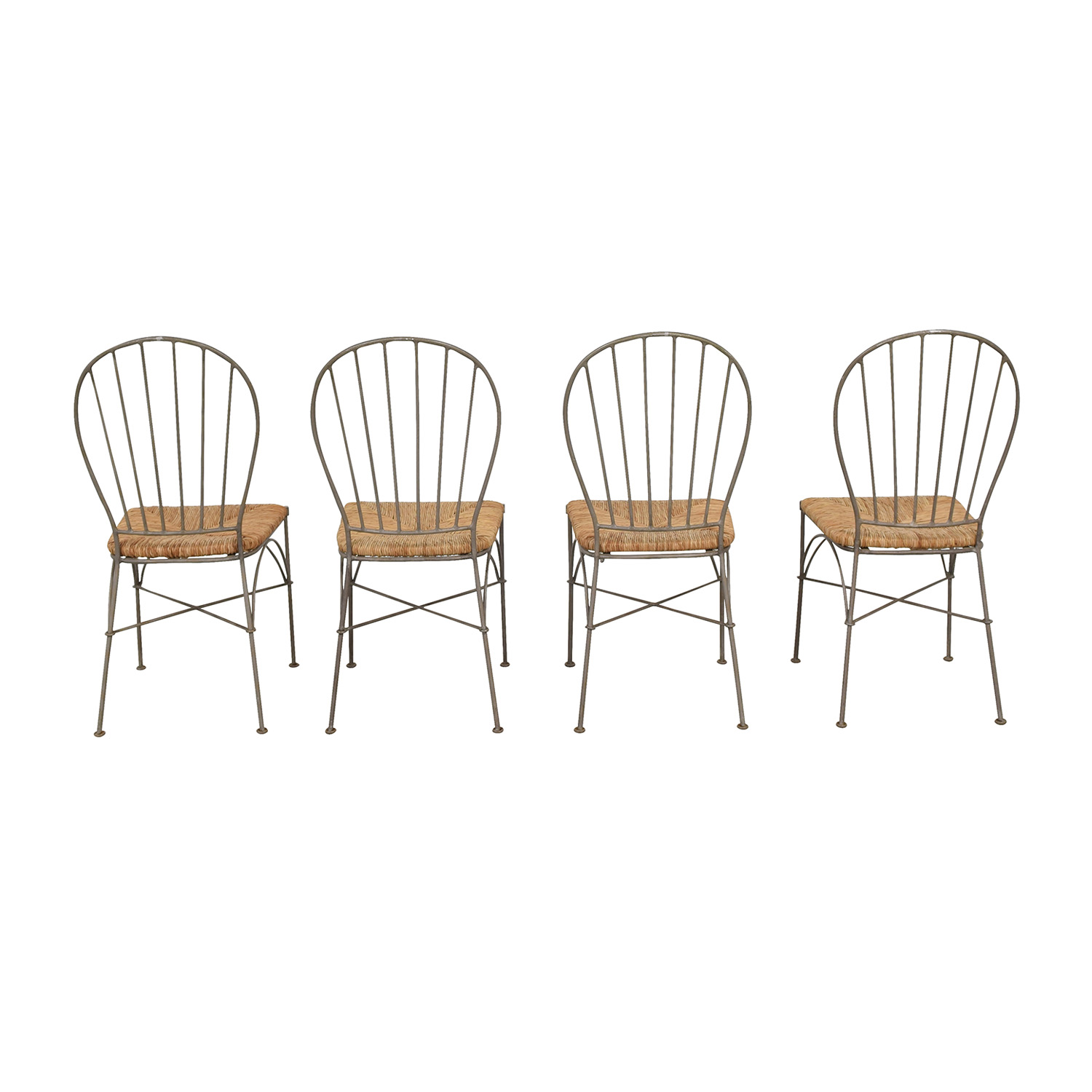 Pier 1 Pier 1 Woven Seat Dining Chairs Chairs