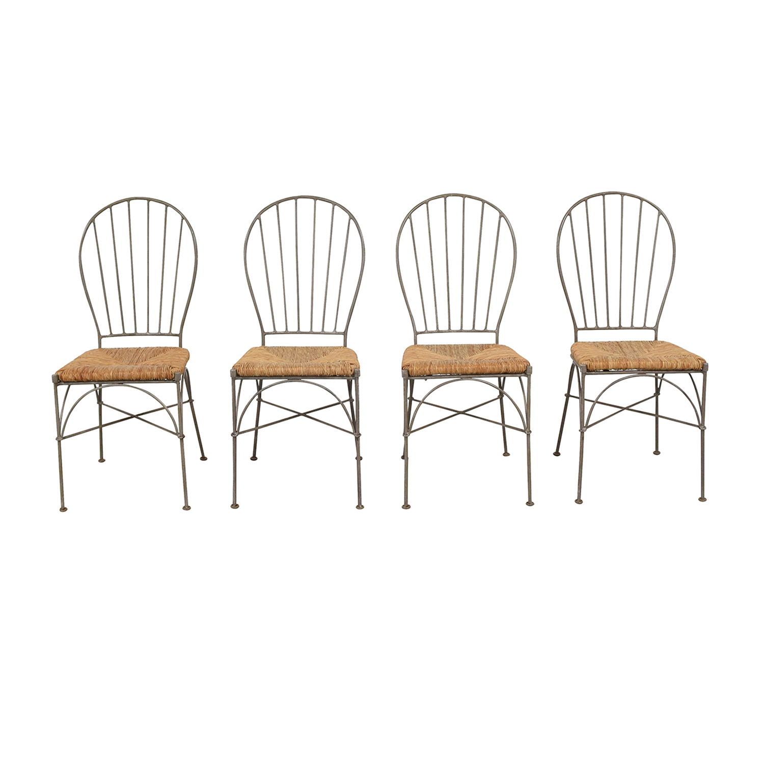 Pier 1 Pier 1 Woven Seat Dining Chairs dimensions