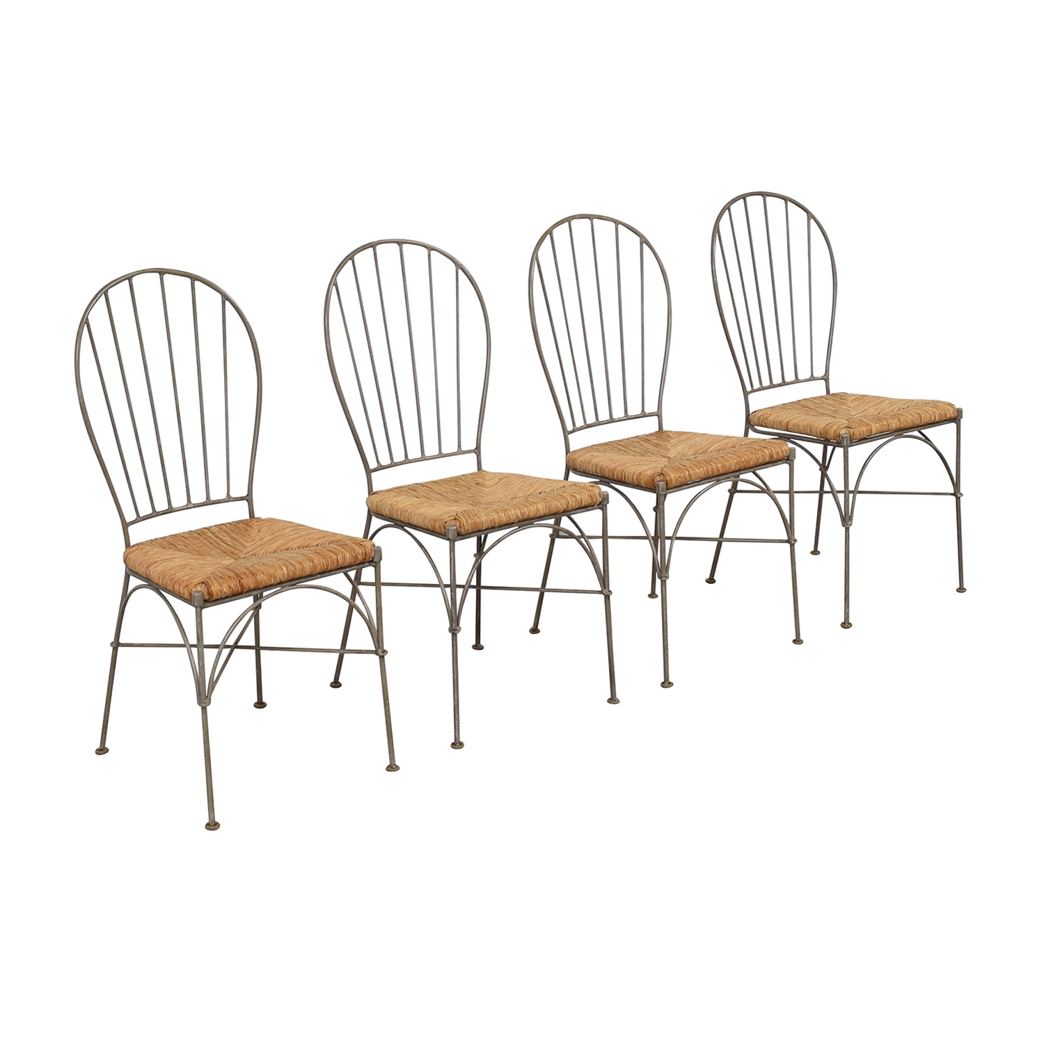 Pier 1 Pier 1 Woven Seat Dining Chairs nj
