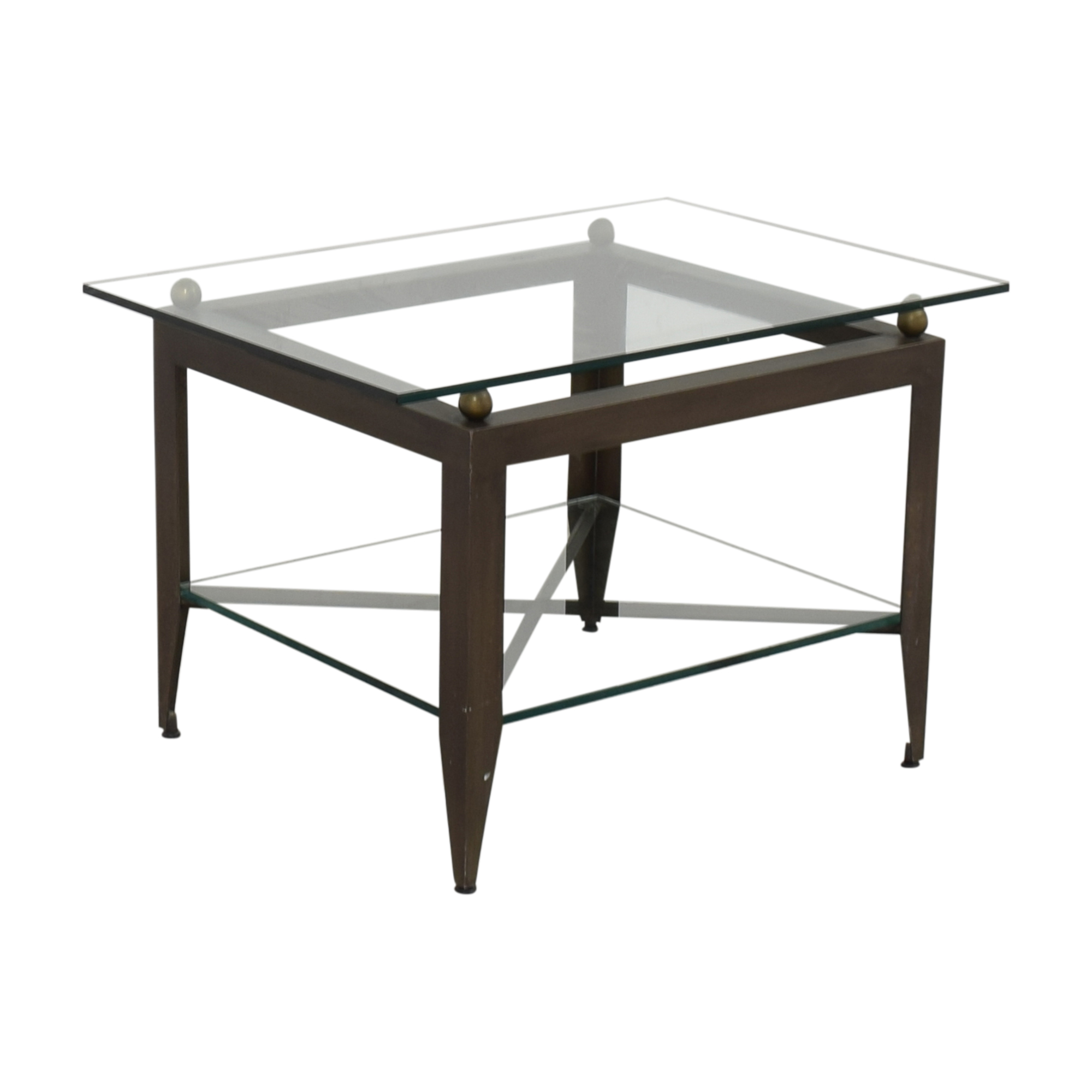 Modern Glass End Table / End Tables