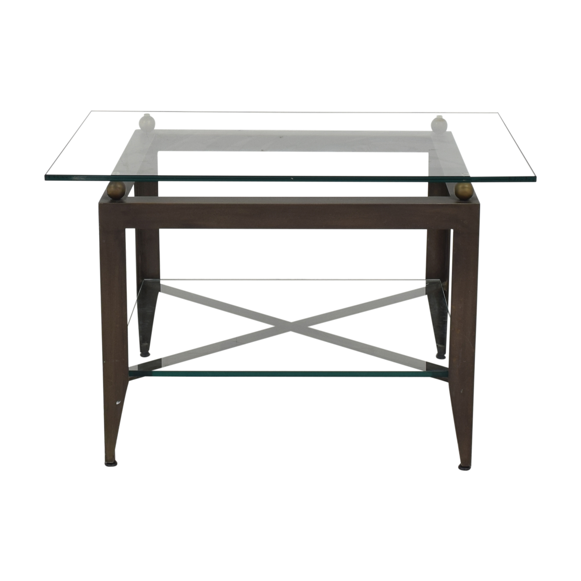 Modern Glass End Table / Tables