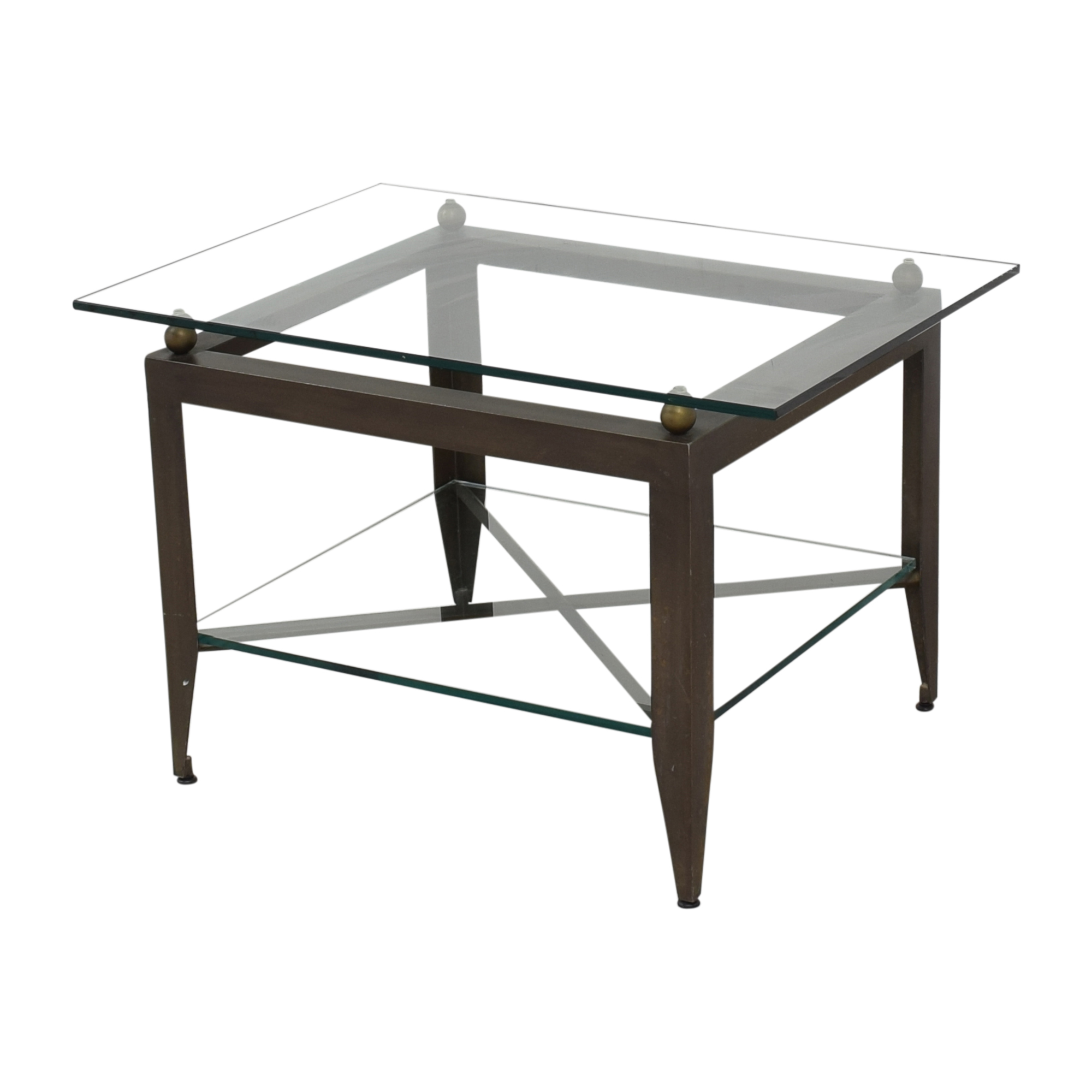 Modern Glass End Table coupon