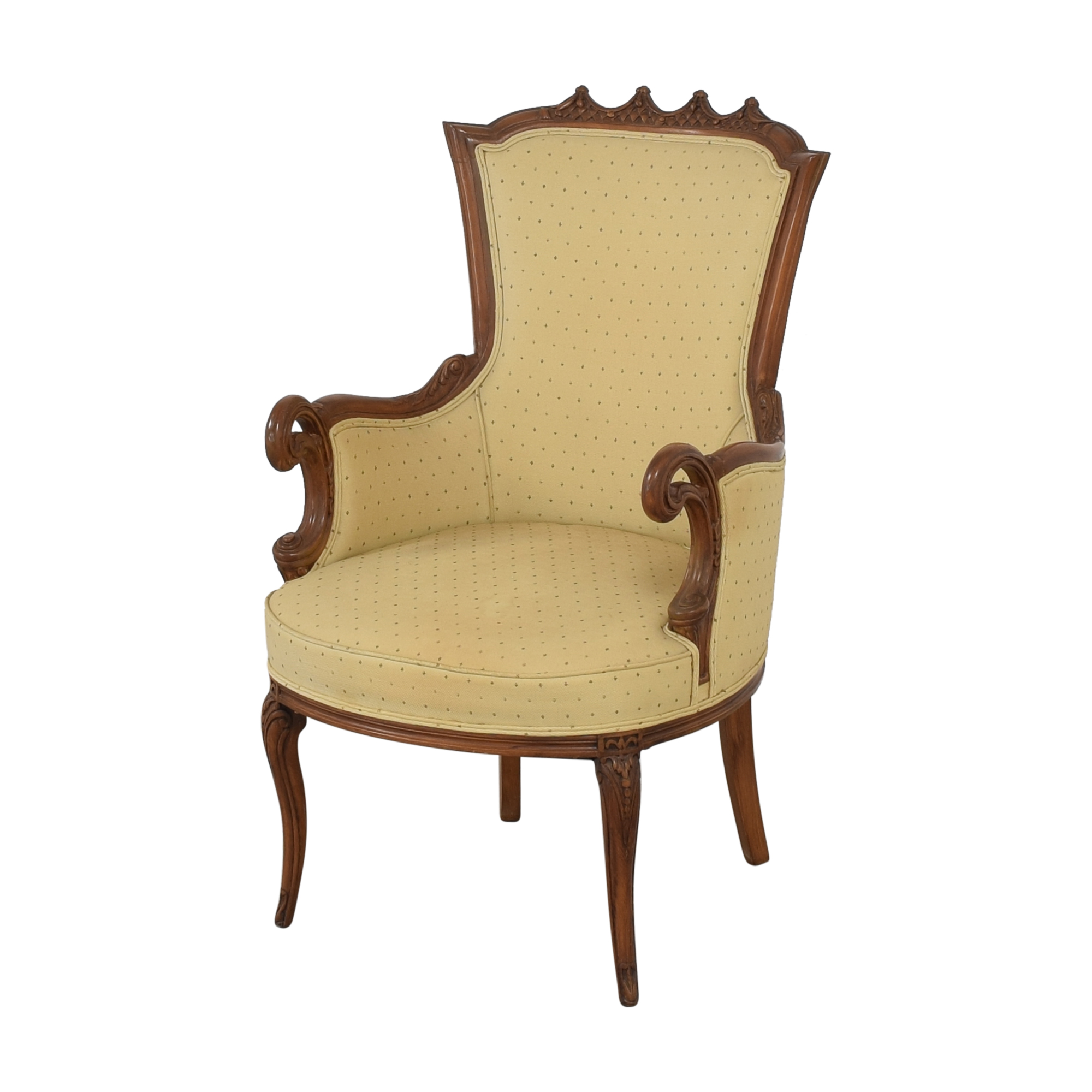 French Provincial Style Arm Chair nj