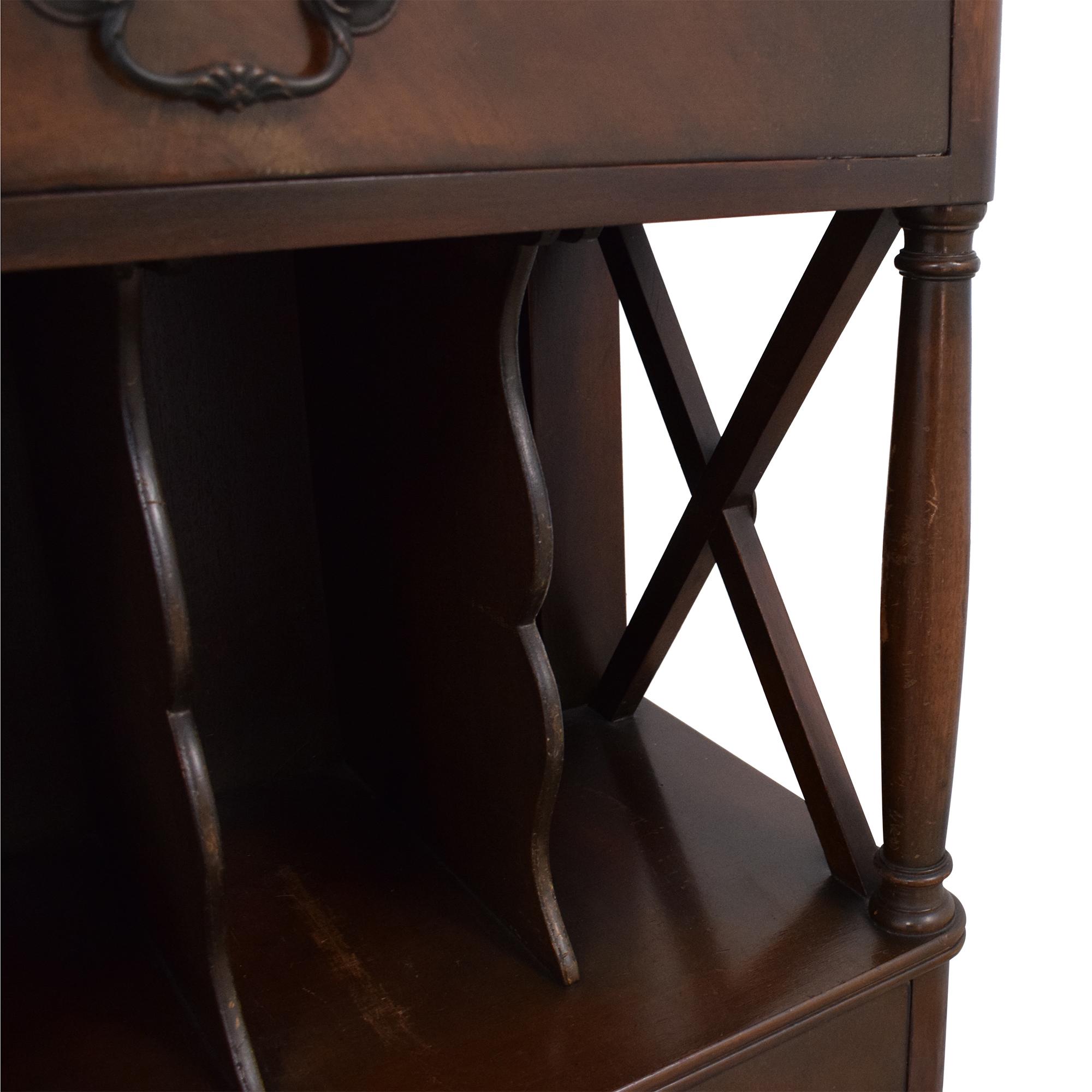 Vintage Four Drawer Sideboard used