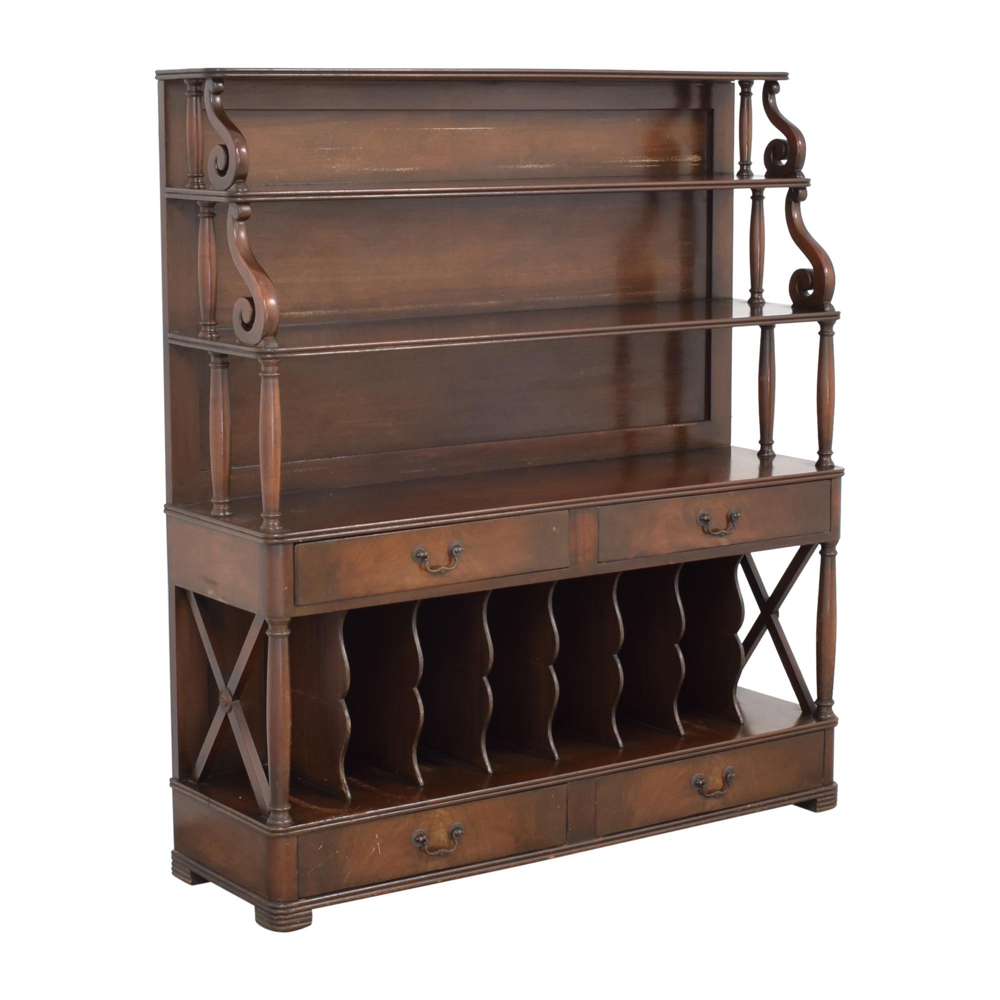 Vintage Four Drawer Sideboard Storage