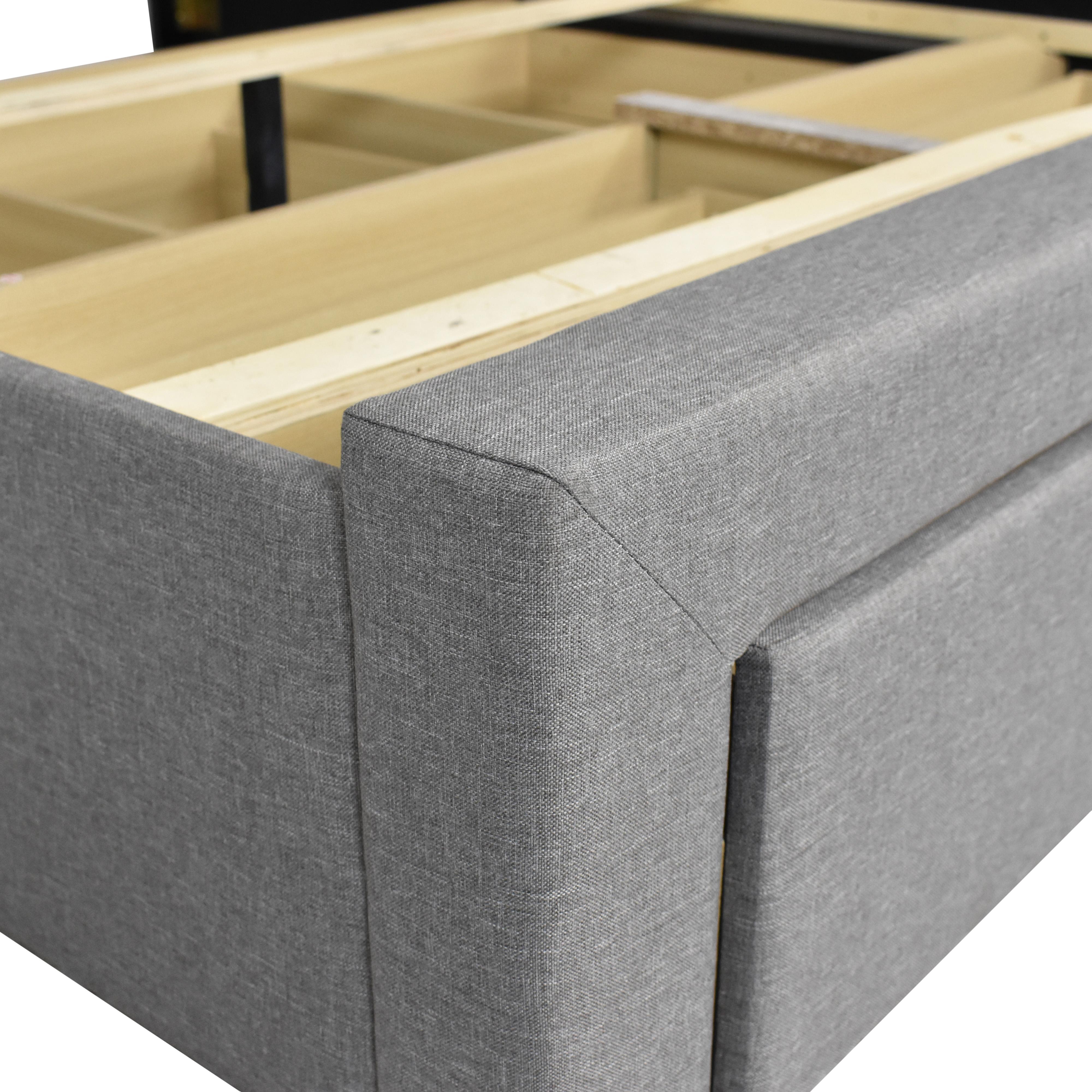 Strick & Bolton Strick & Bolton Wingback Queen Storage Bed discount