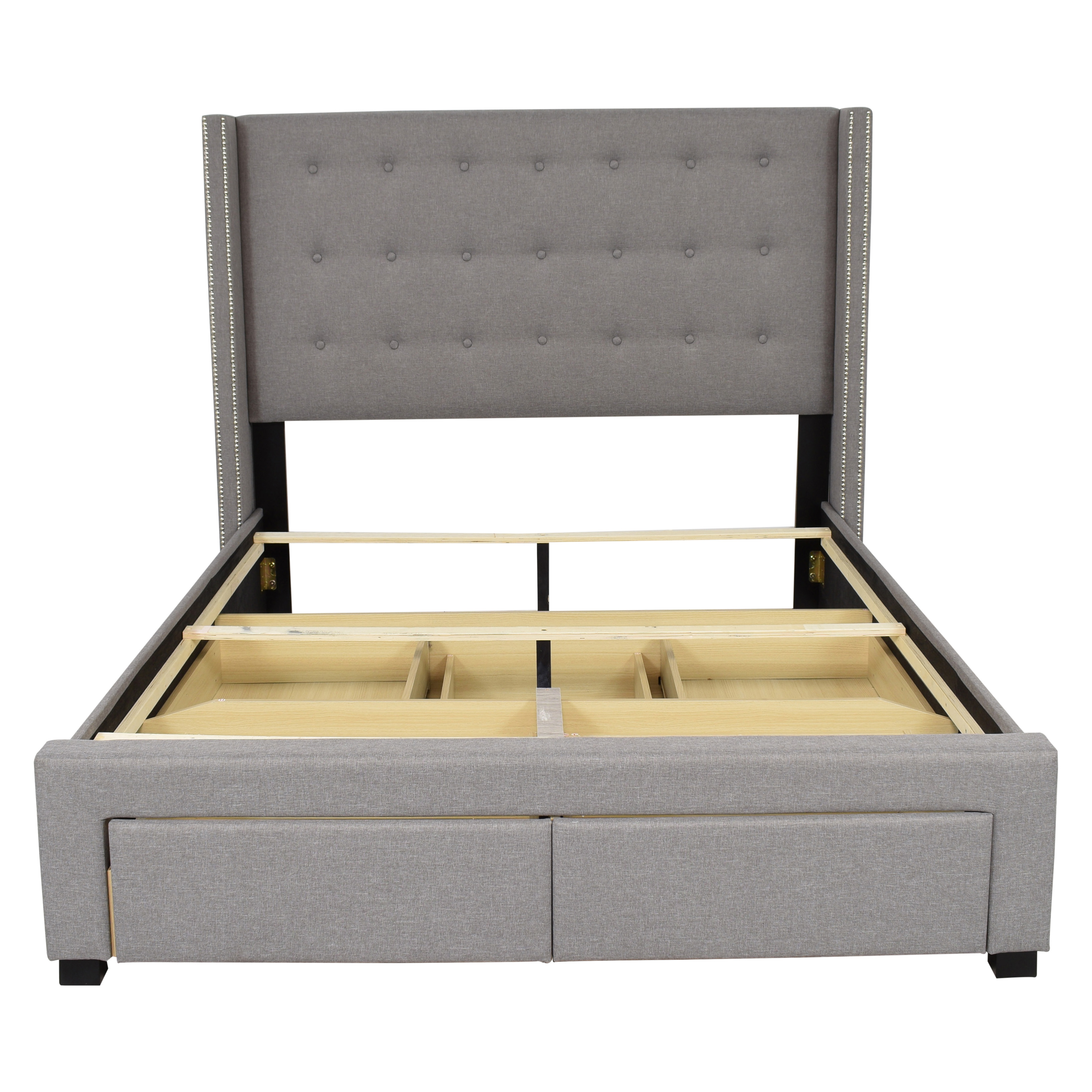 buy Strick & Bolton Strick & Bolton Wingback Queen Storage Bed online