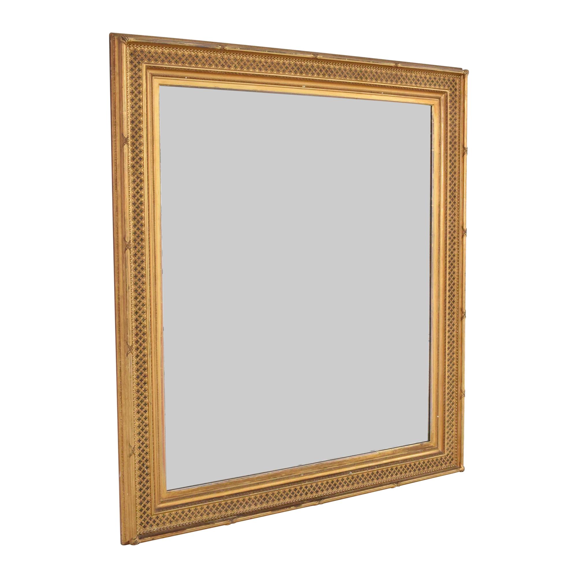 buy Vintage William Schaus Framed Mirror  Decor