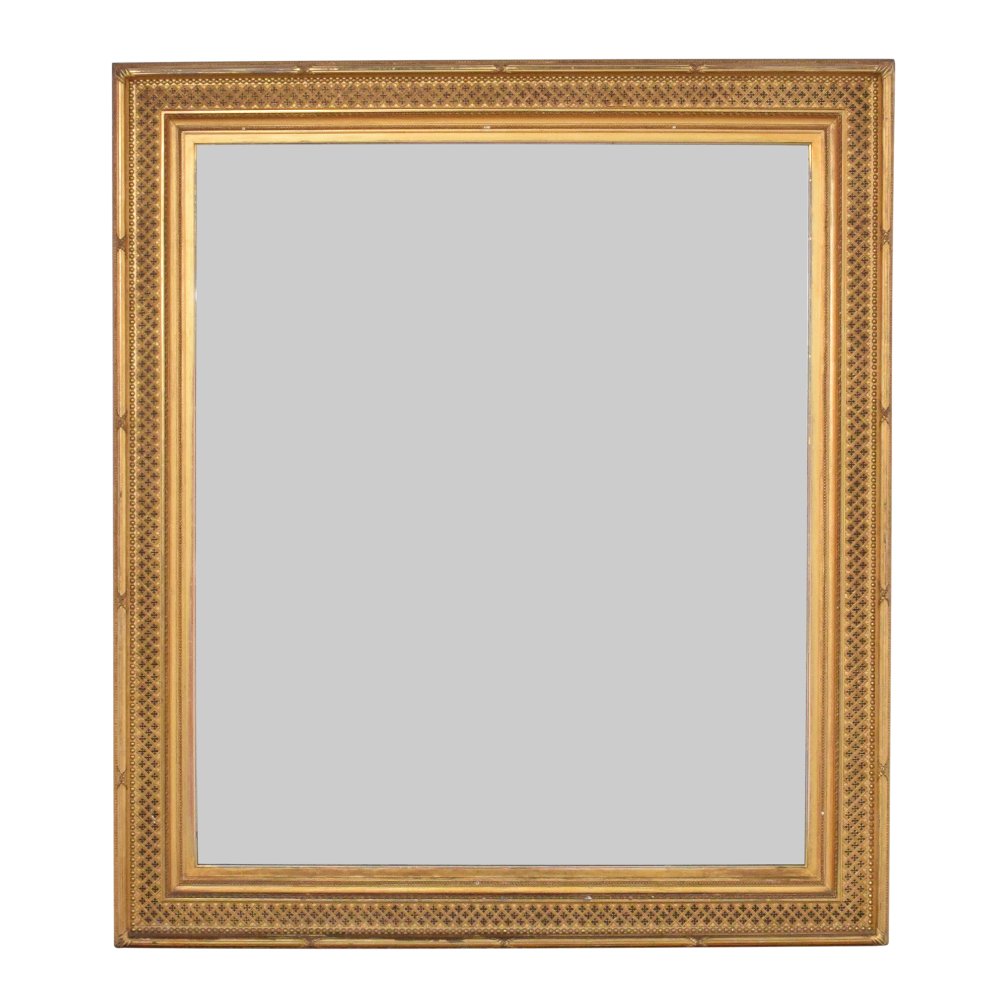 Vintage William Schaus Framed Mirror
