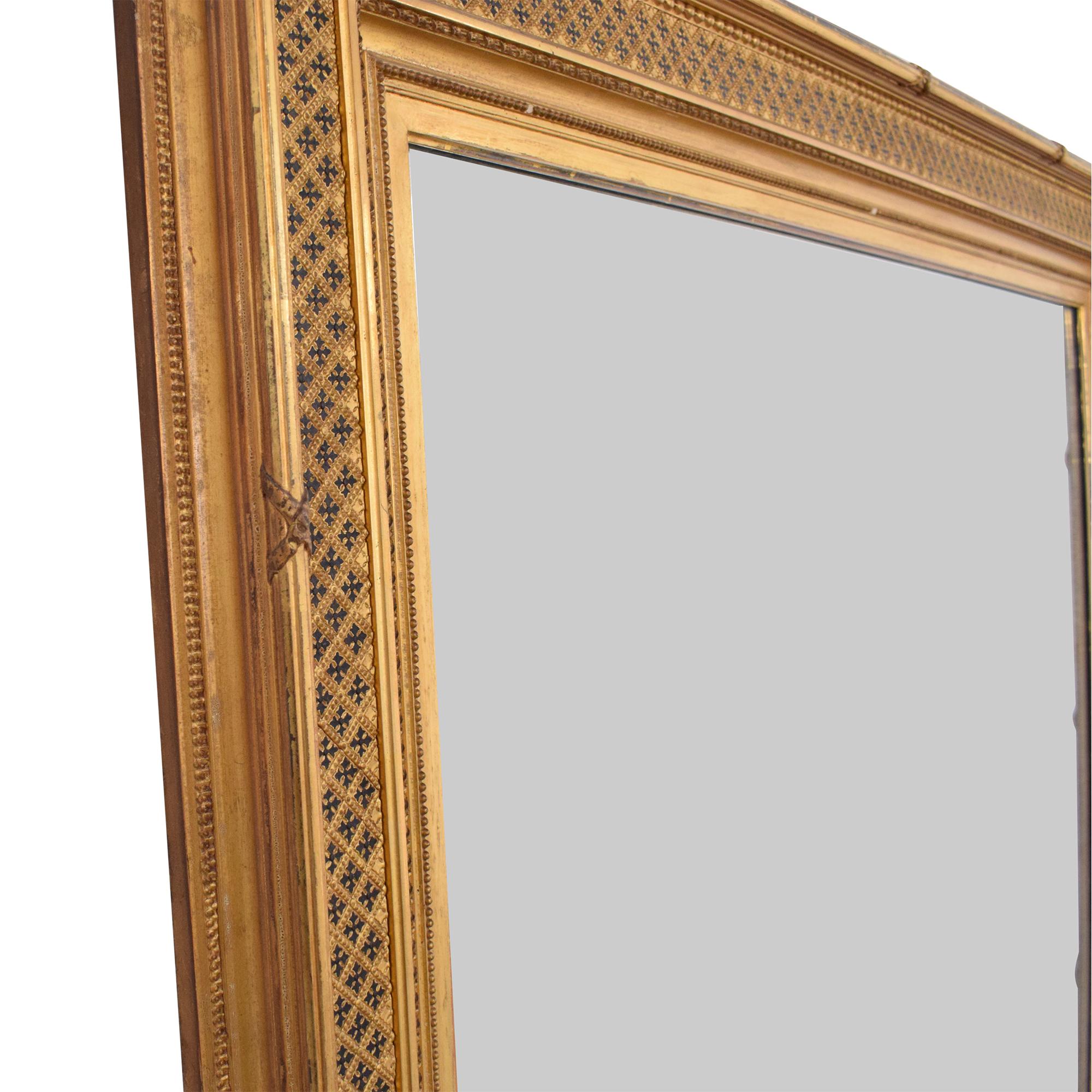 Vintage William Schaus Framed Mirror nj
