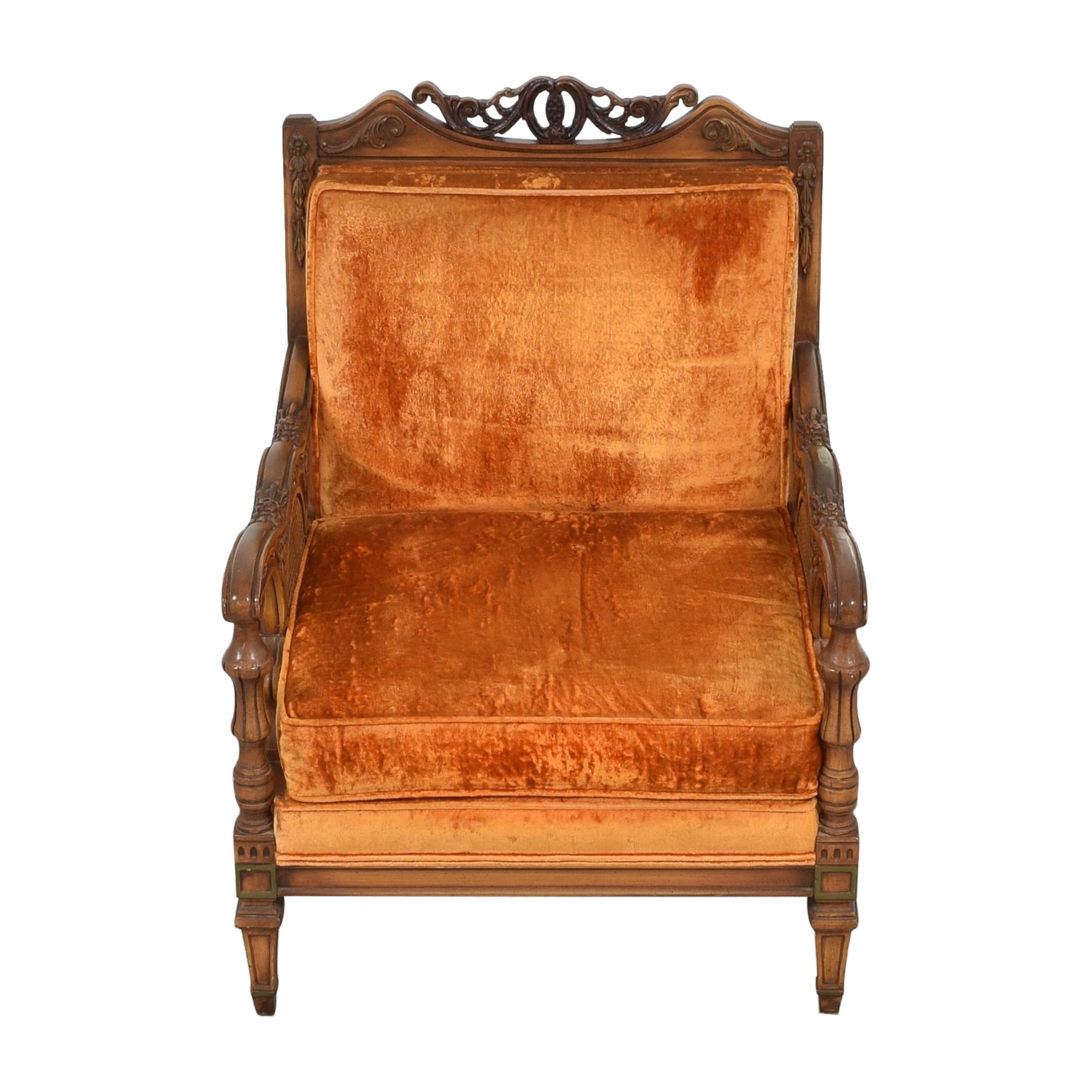 shop S Miller Vintage Upholstered Armchair S. Miller