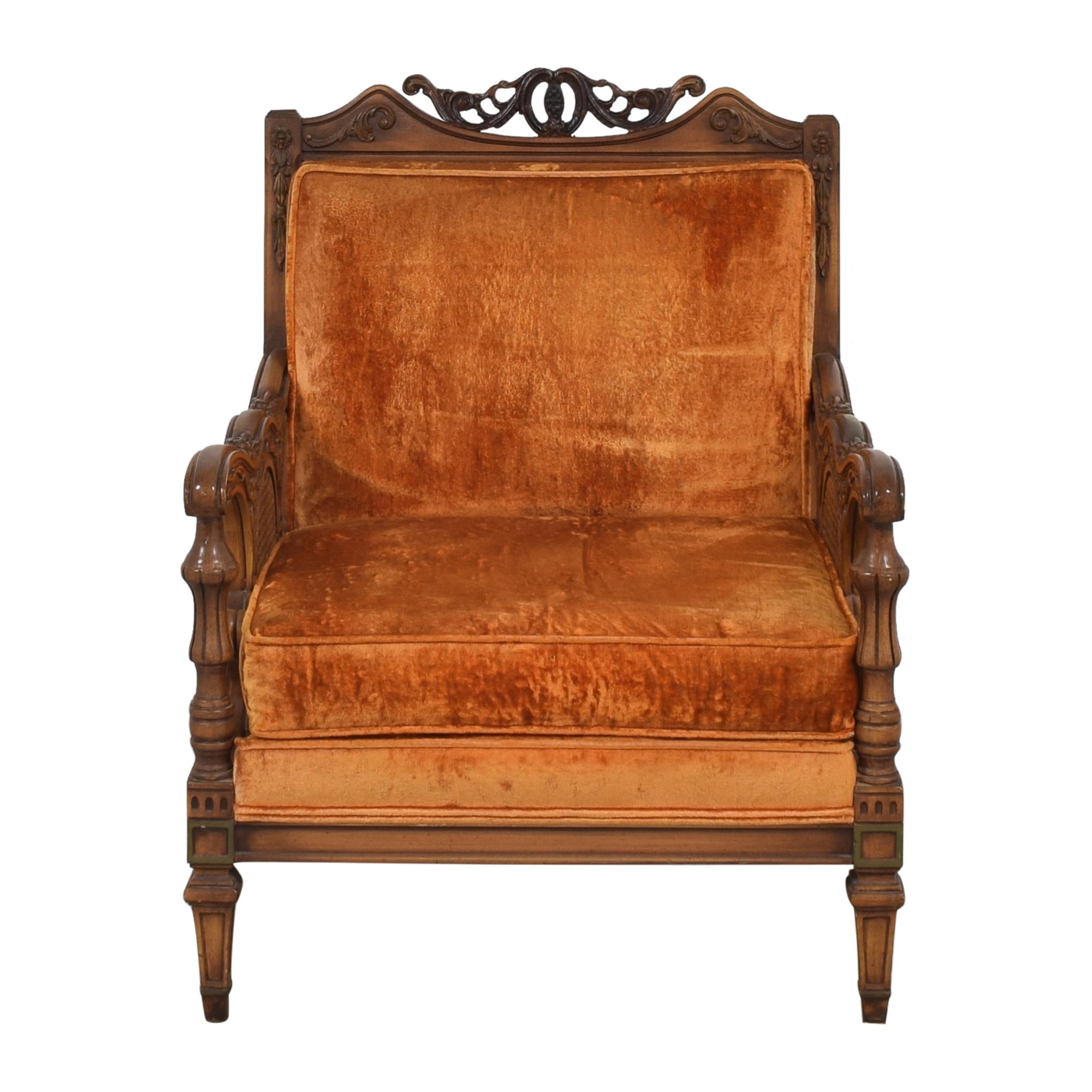 buy S Miller Vintage Upholstered Armchair S. Miller