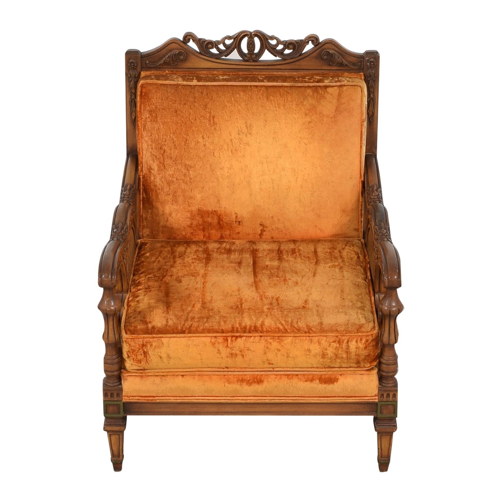 S. Miller S Miller Vintage Upholstered Armchair ct