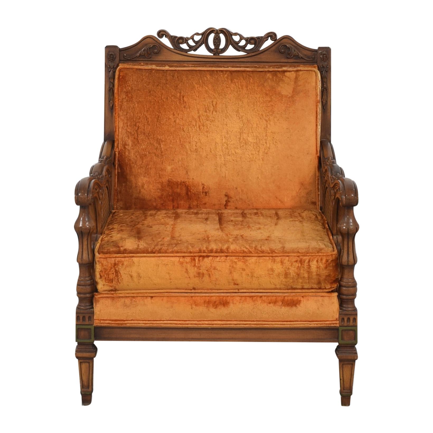 S. Miller S Miller Vintage Upholstered Armchair