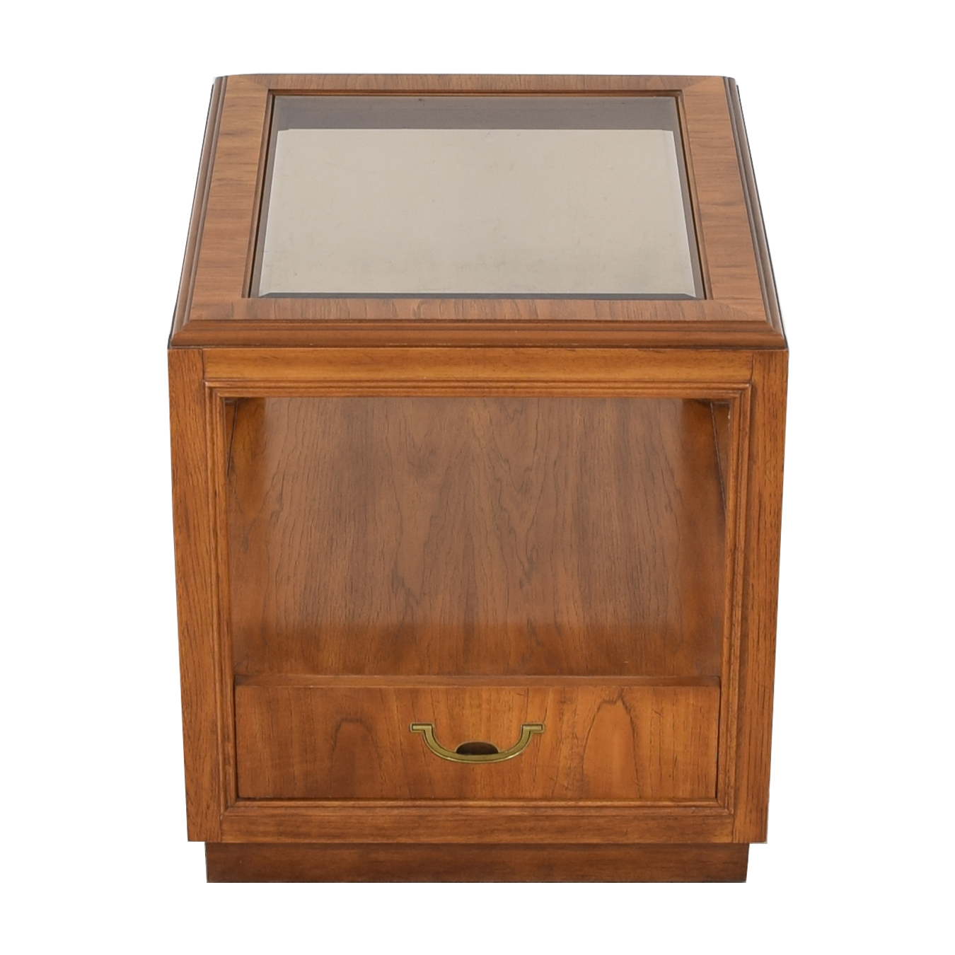 shop Drexel Heritage Glass Top Side Table Drexel Heritage End Tables
