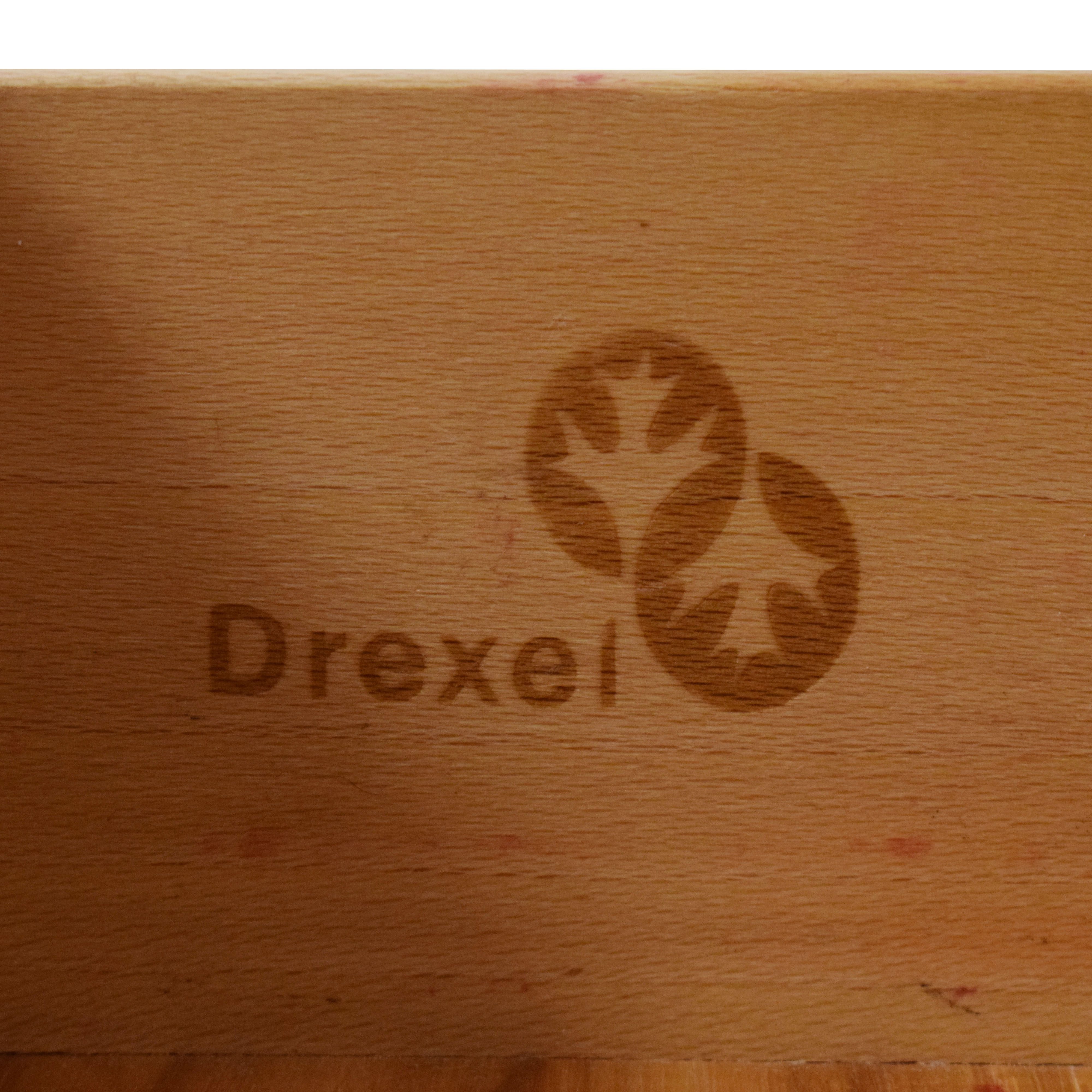 shop Drexel Heritage Glass Top Side Table Drexel Heritage Tables