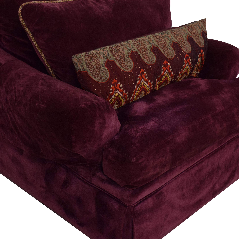 Vanguard Furniture Vanguard Furniture Rolled Arm Chair Accent Chairs