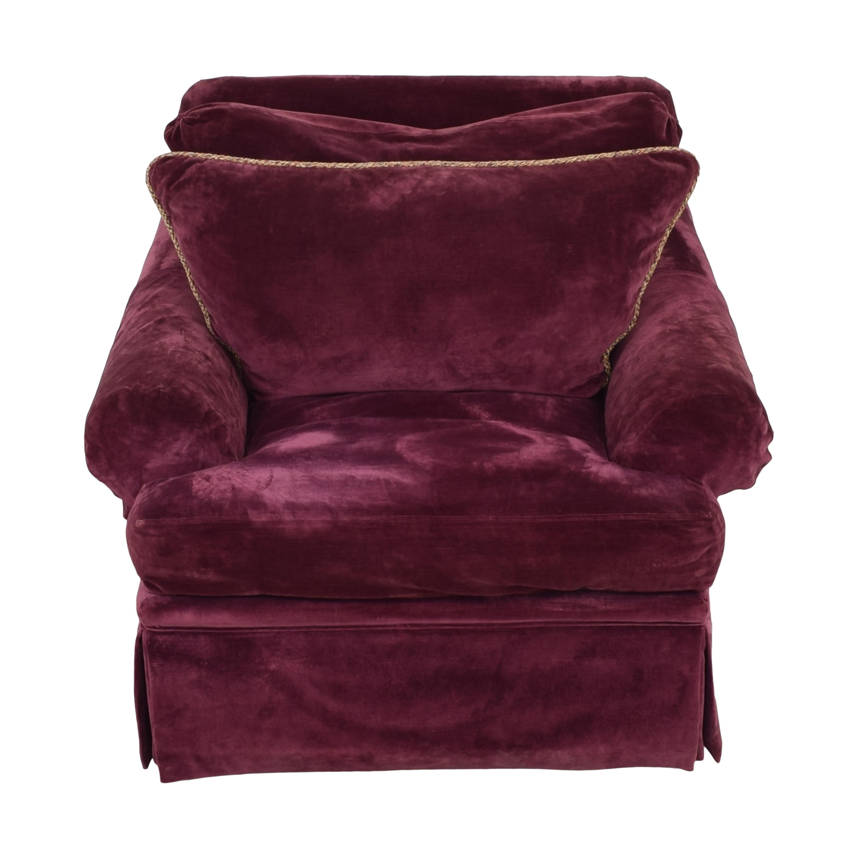Vanguard Furniture Vanguard Furniture Rolled Arm Chair