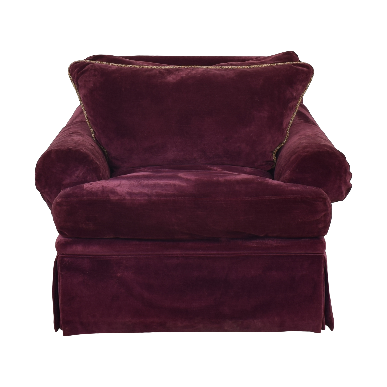 shop Vanguard Furniture Rolled Arm Chair Vanguard Furniture