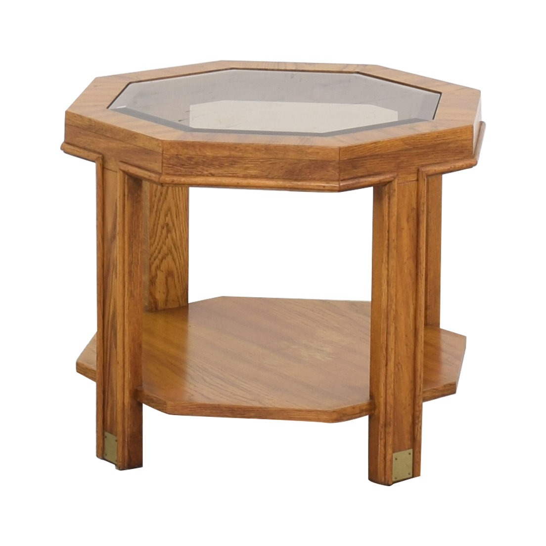 Drexel Heritage Drexel Heritage Hexagon Side Table End Tables