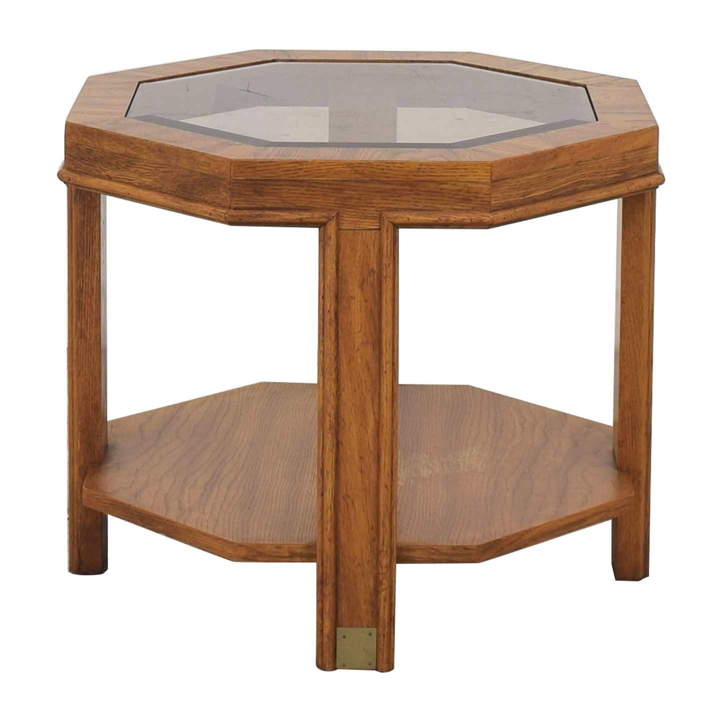 Drexel Heritage Drexel Heritage Hexagon Side Table pa