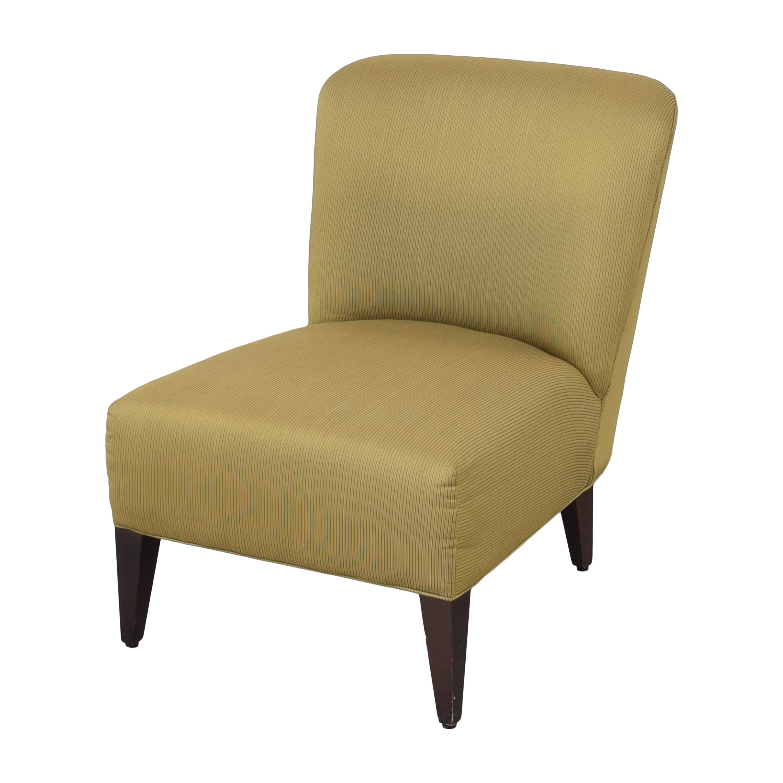 Restoration Hardware Slipper Accent Chair sale