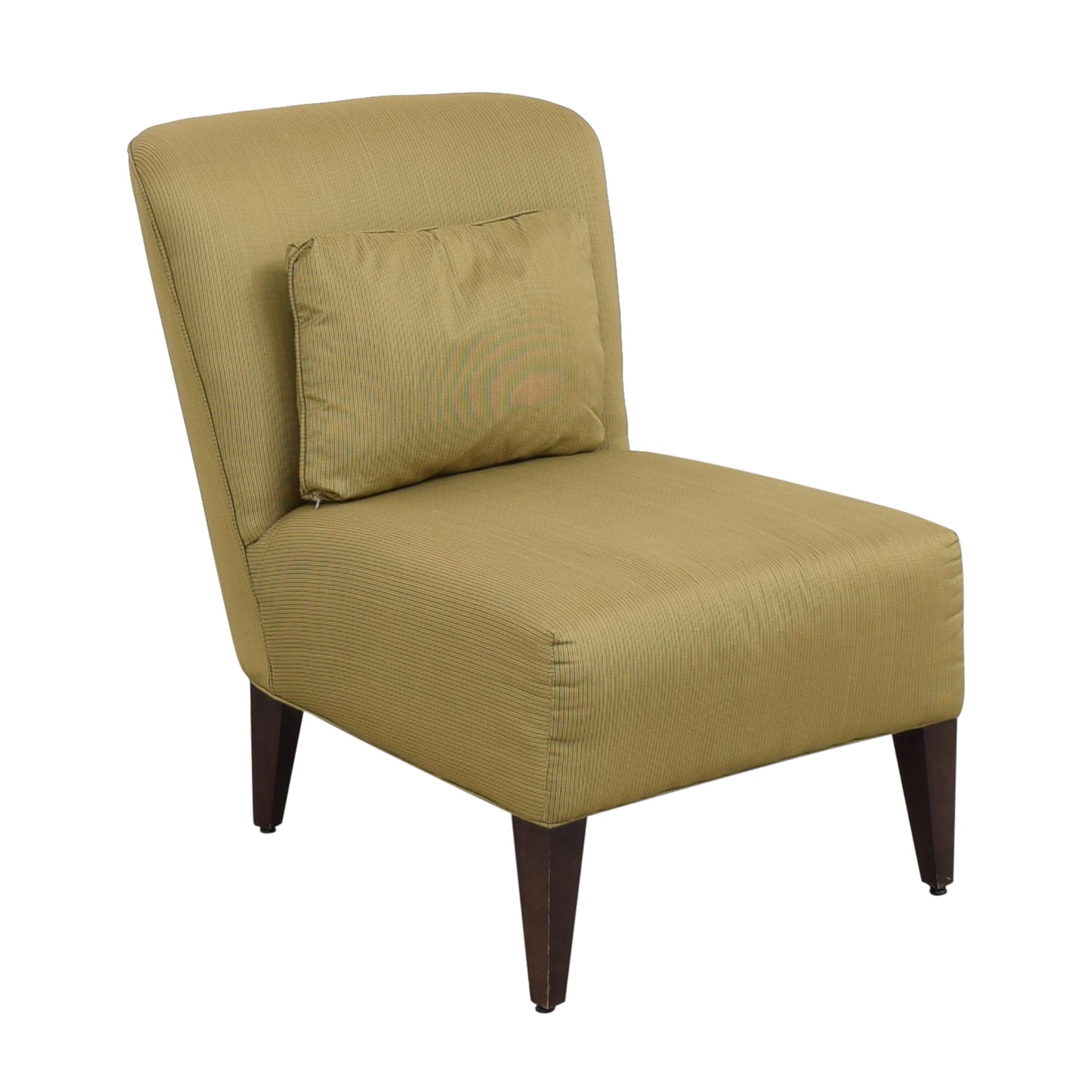 Restoration Hardware Slipper Style Accent Chair Restoration Hardware