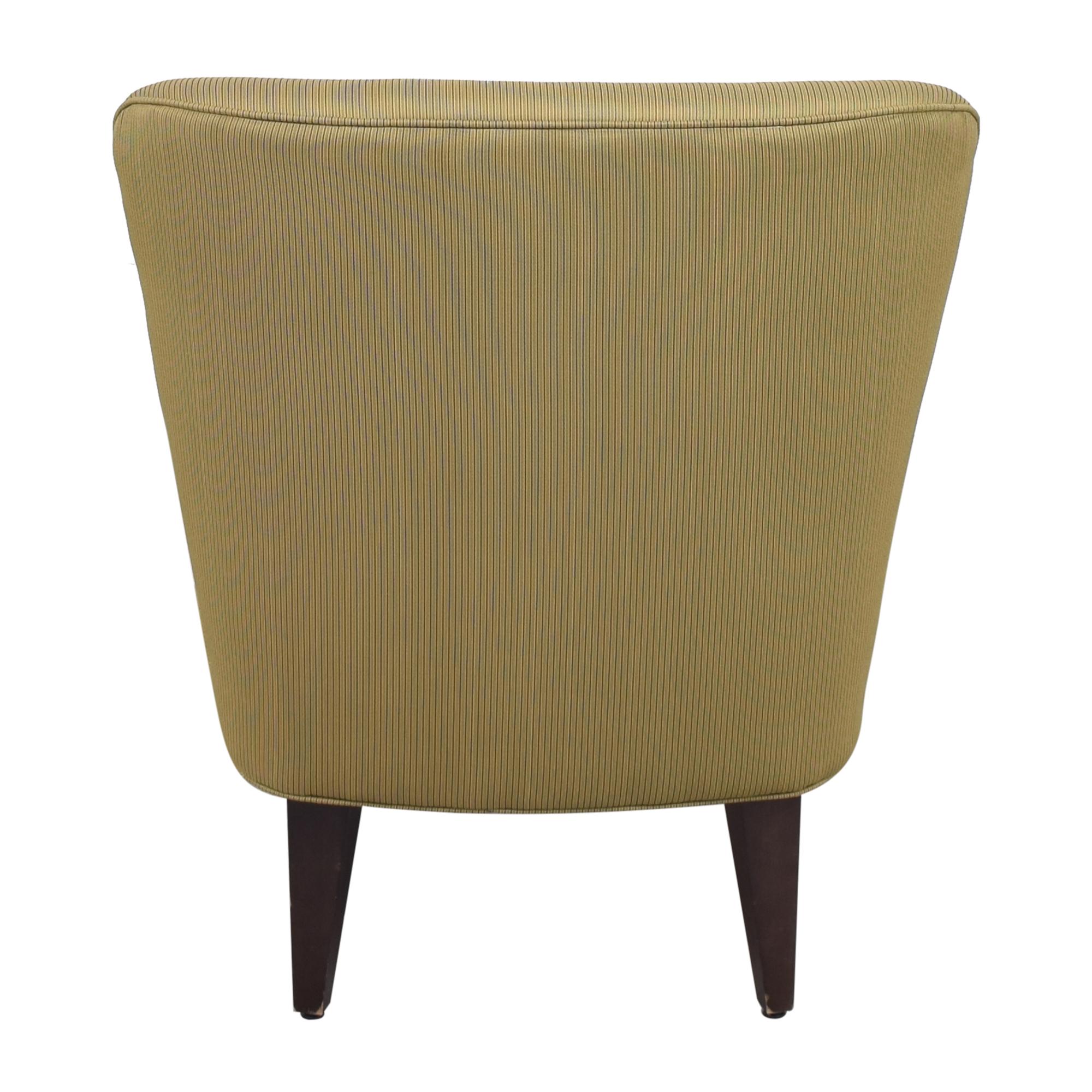 shop Restoration Hardware Slipper Style Accent Chair Restoration Hardware
